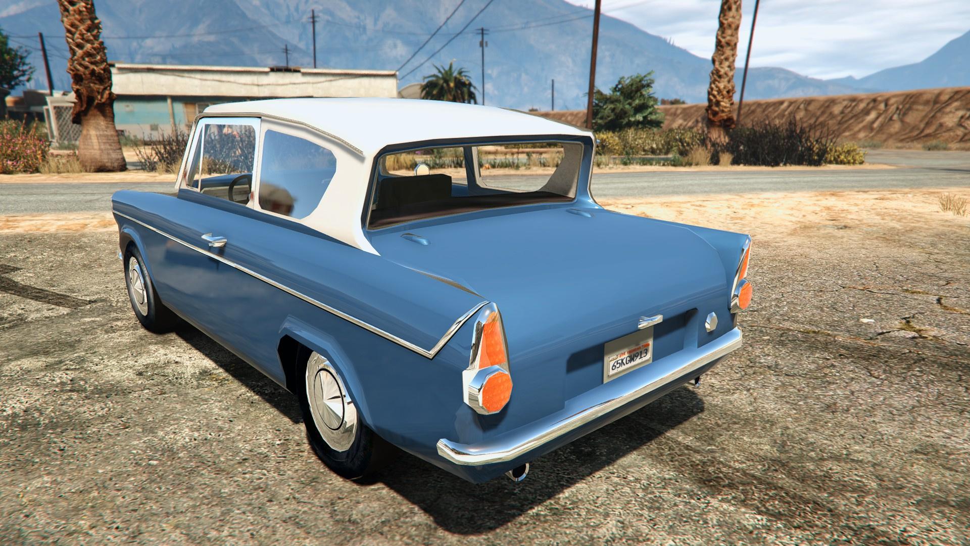 1959 Ford Anglia From Harry Potter Gta5 Mods Com