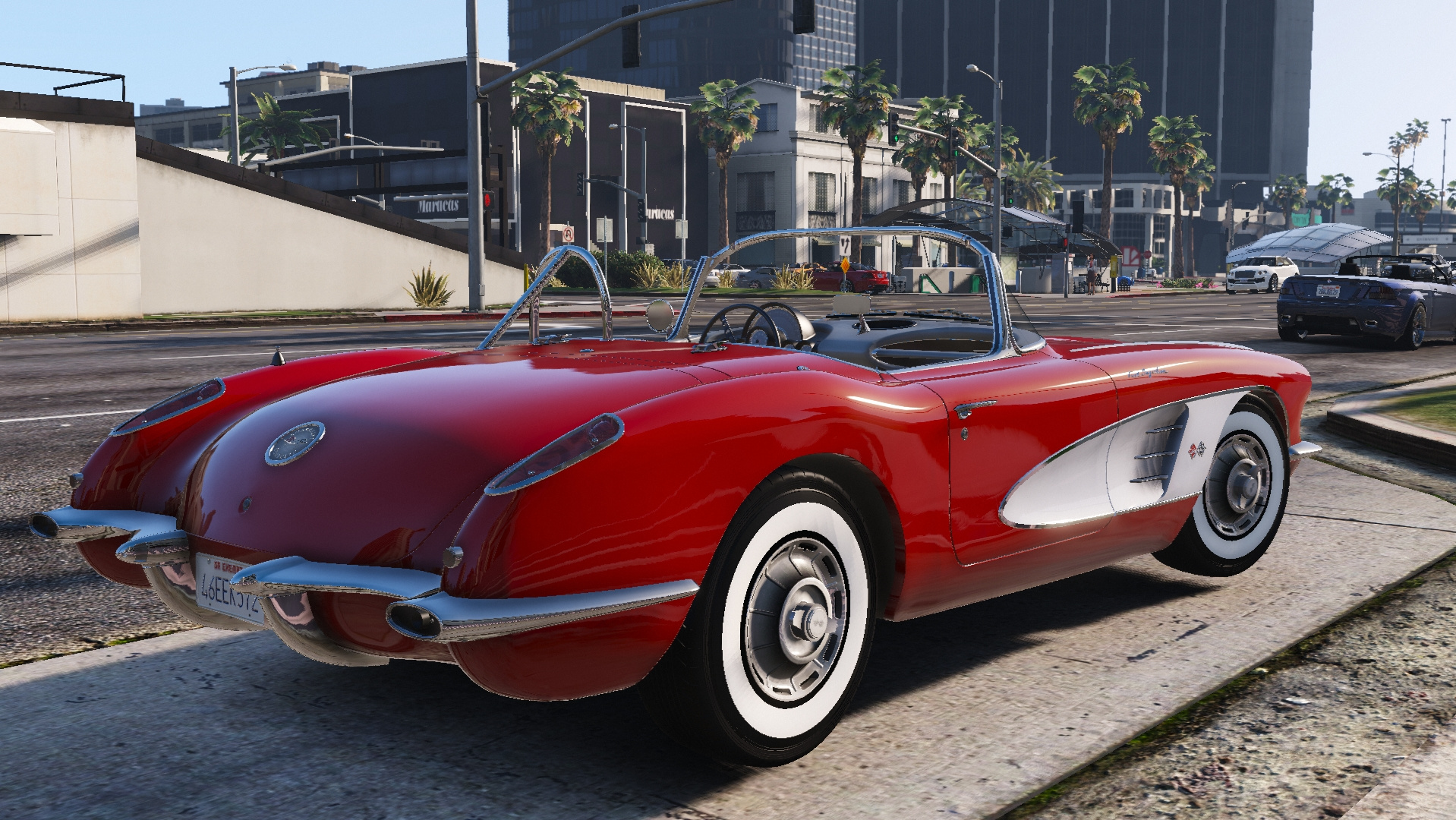 1960 Chevrolet Corvette C1 Gta5 Mods Com