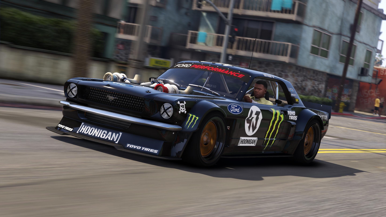 Hoonigan Mustang