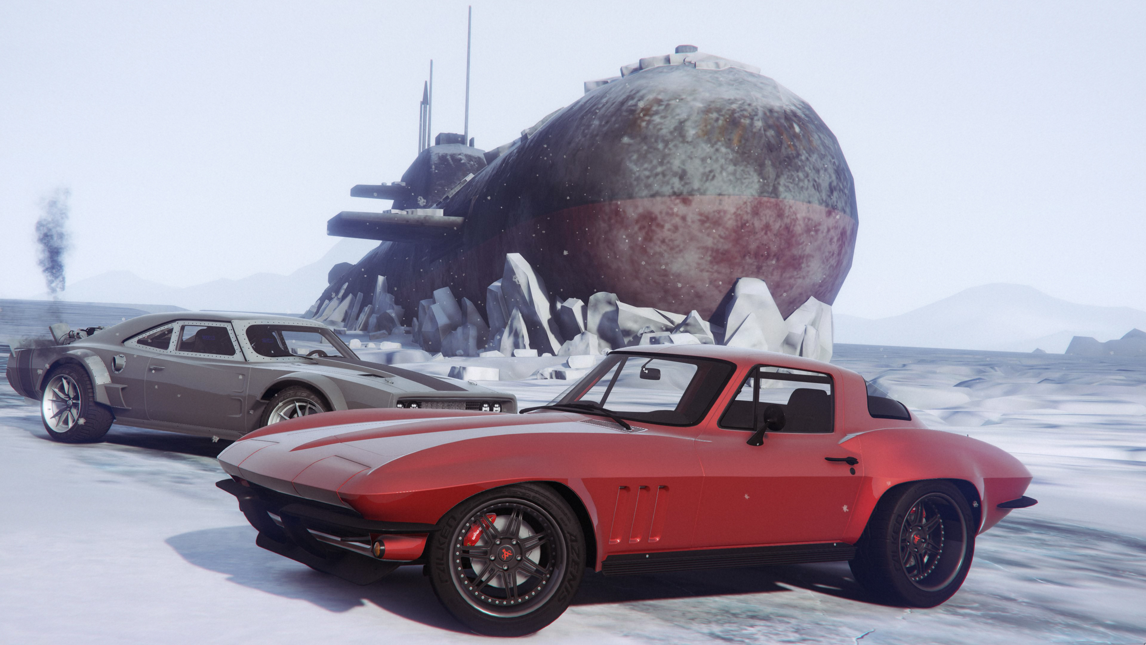1966 Chevrolet Corvette Stingray From Fast Furious 8 Gta5 Modscom Coupe 5192e1 0 D2be62 1