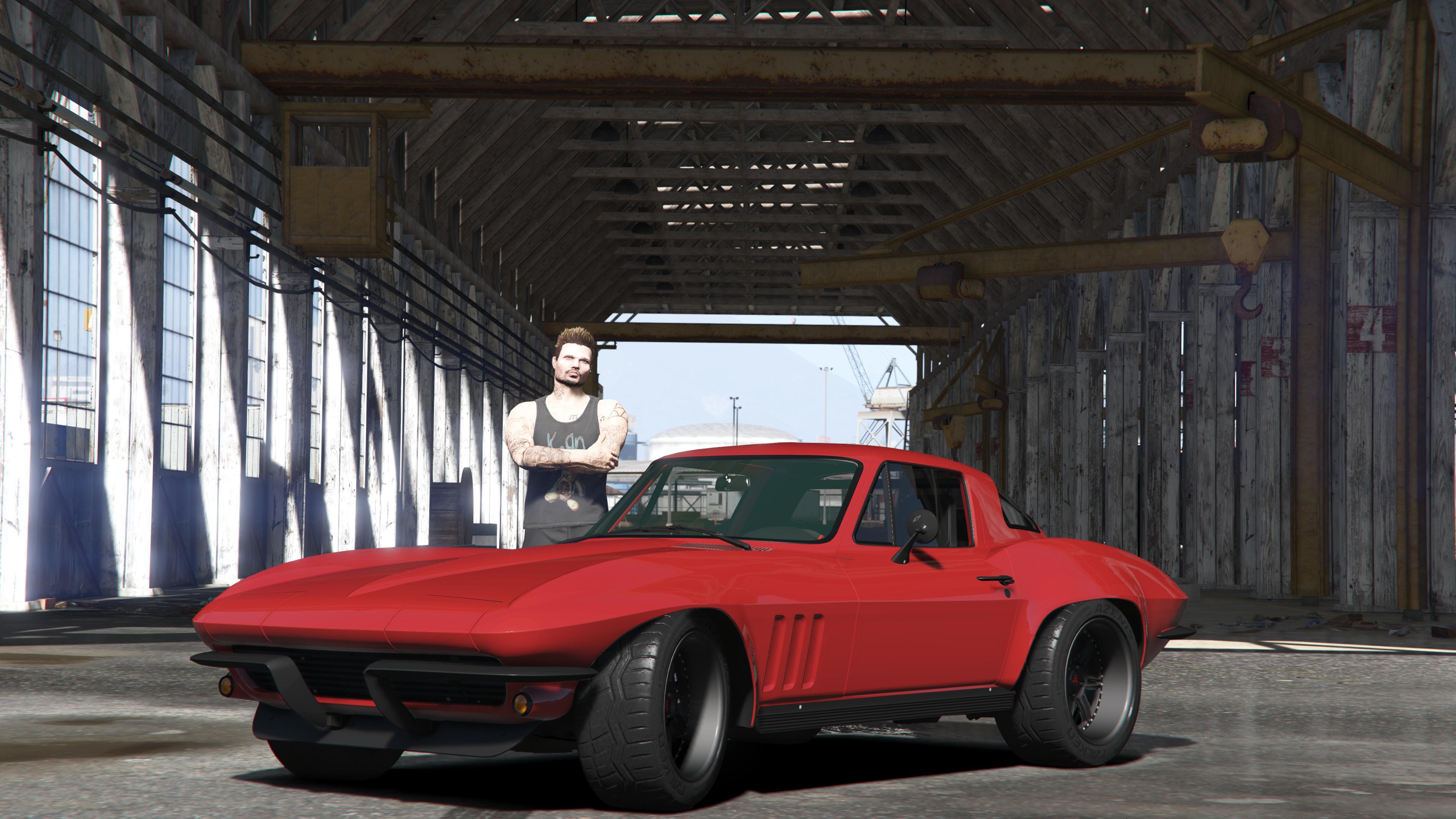 1966 Chevrolet Corvette Stingray from Fast & Furious 8 GTA5 Mods