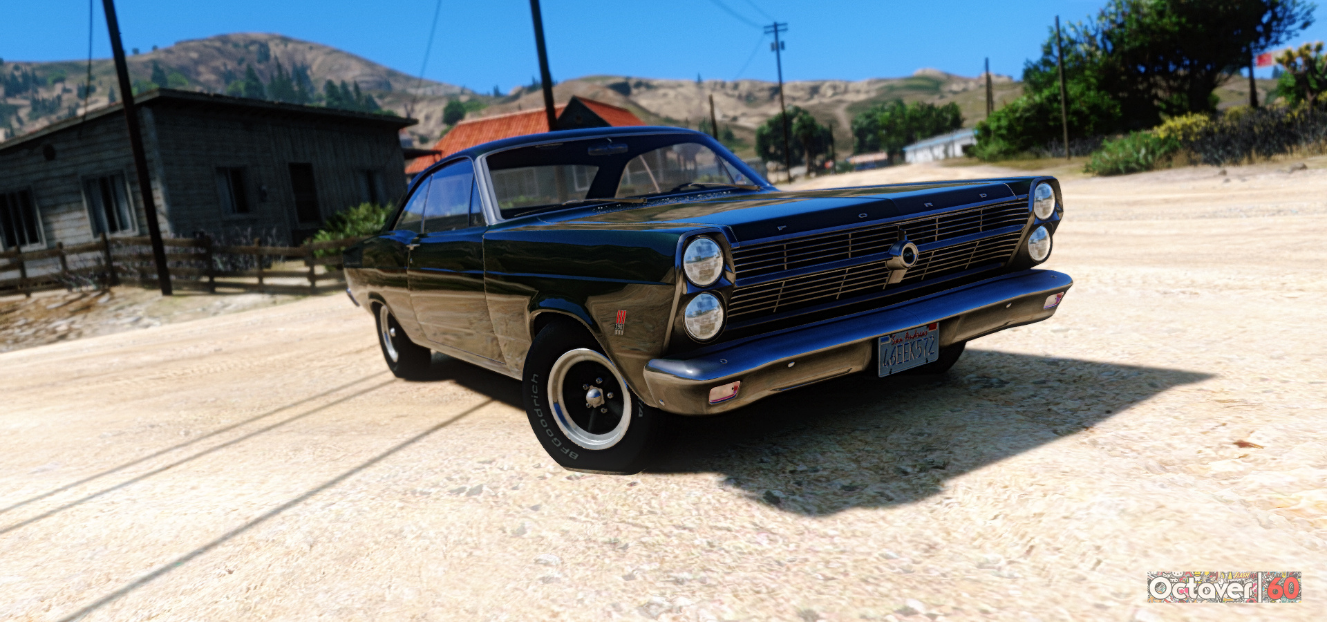 1966 Ford Fairlane 500 Add On Replace Gta5 Mods Com