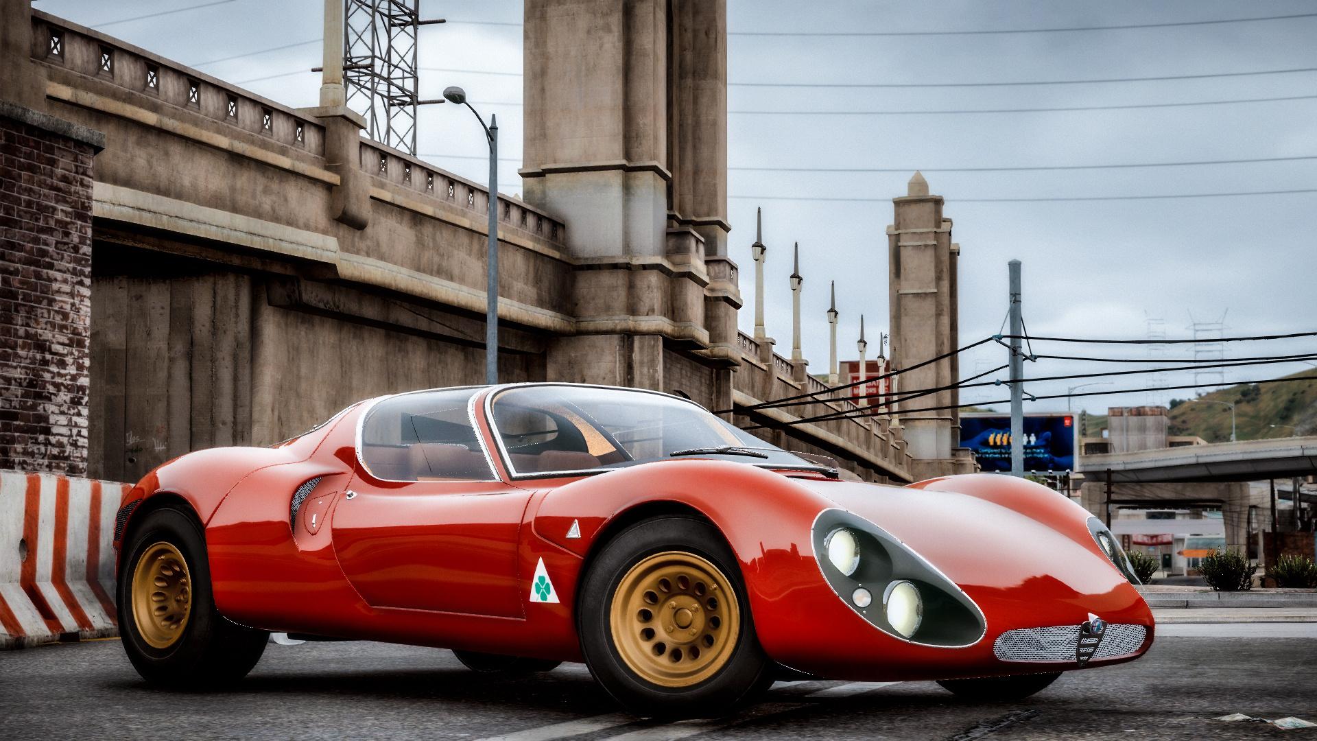 """Vaizdo rezultatas pagal užklausą """"Alfa Romeo 1967 gta 5"""""""