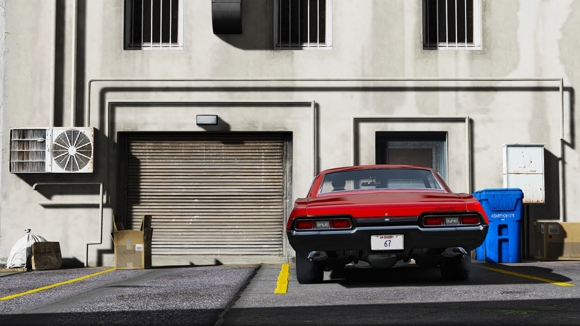1967 Chevrolet Impala Sport Sedan 396 Turbo Jet [Add on] GTA5 Mods