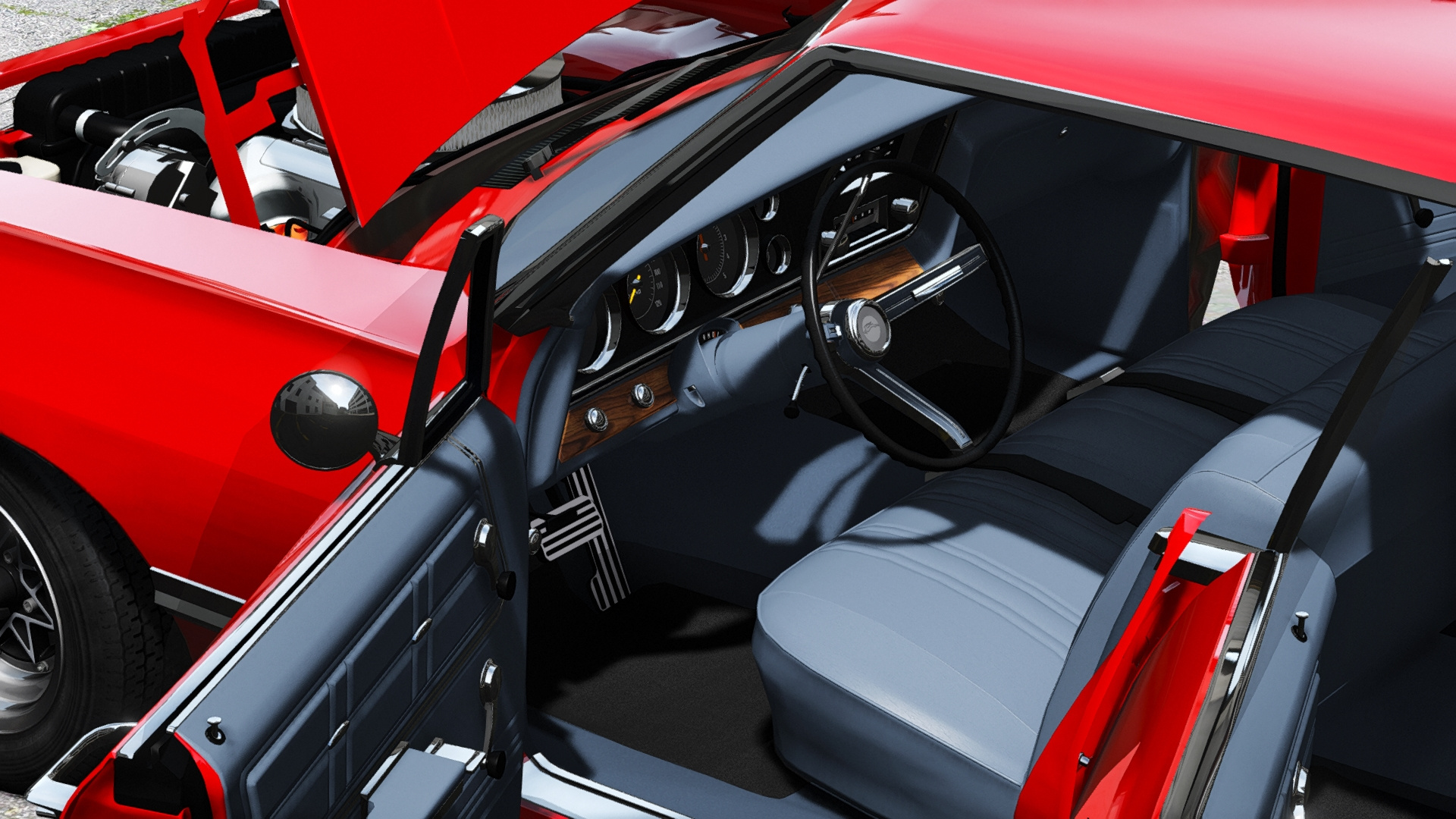 1967 Chevrolet Impala Sport Sedan 396 Turbo Jet [Add on] GTA5 Mods
