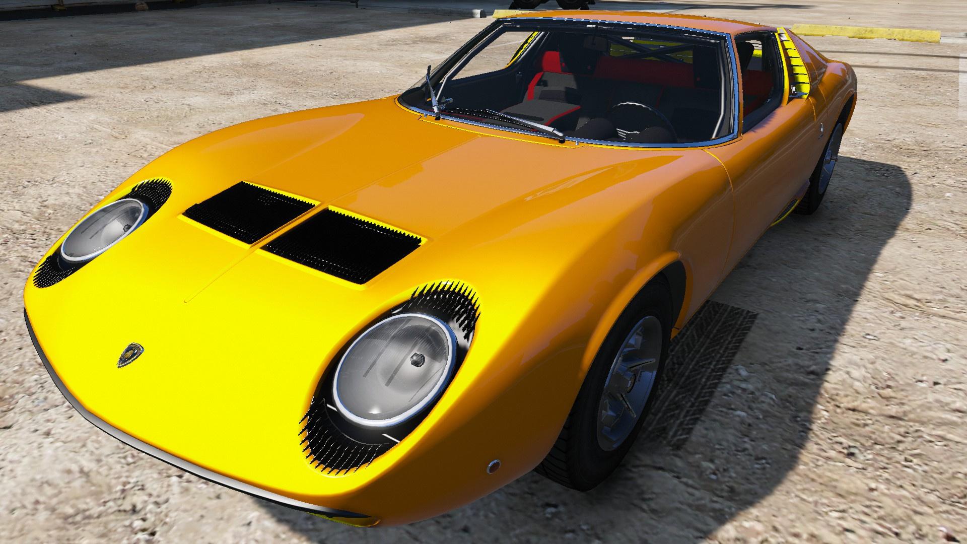 1967 Lamborghini Miura P400 Gta5 Mods Com