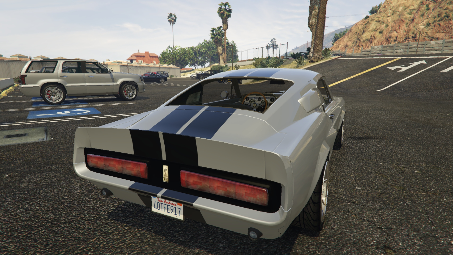 1967 Shelby Mustang GT500 Eleanor GTA5 Mods