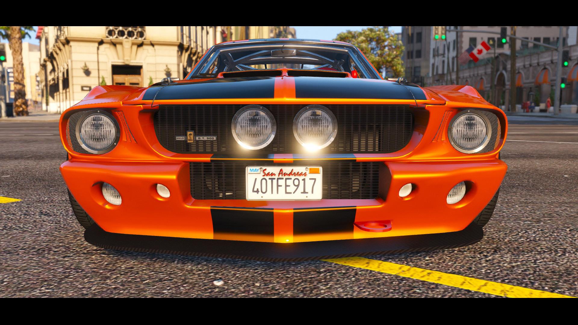 1967 Shelby Mustang GT500 HQ Tuning  GTA5Modscom