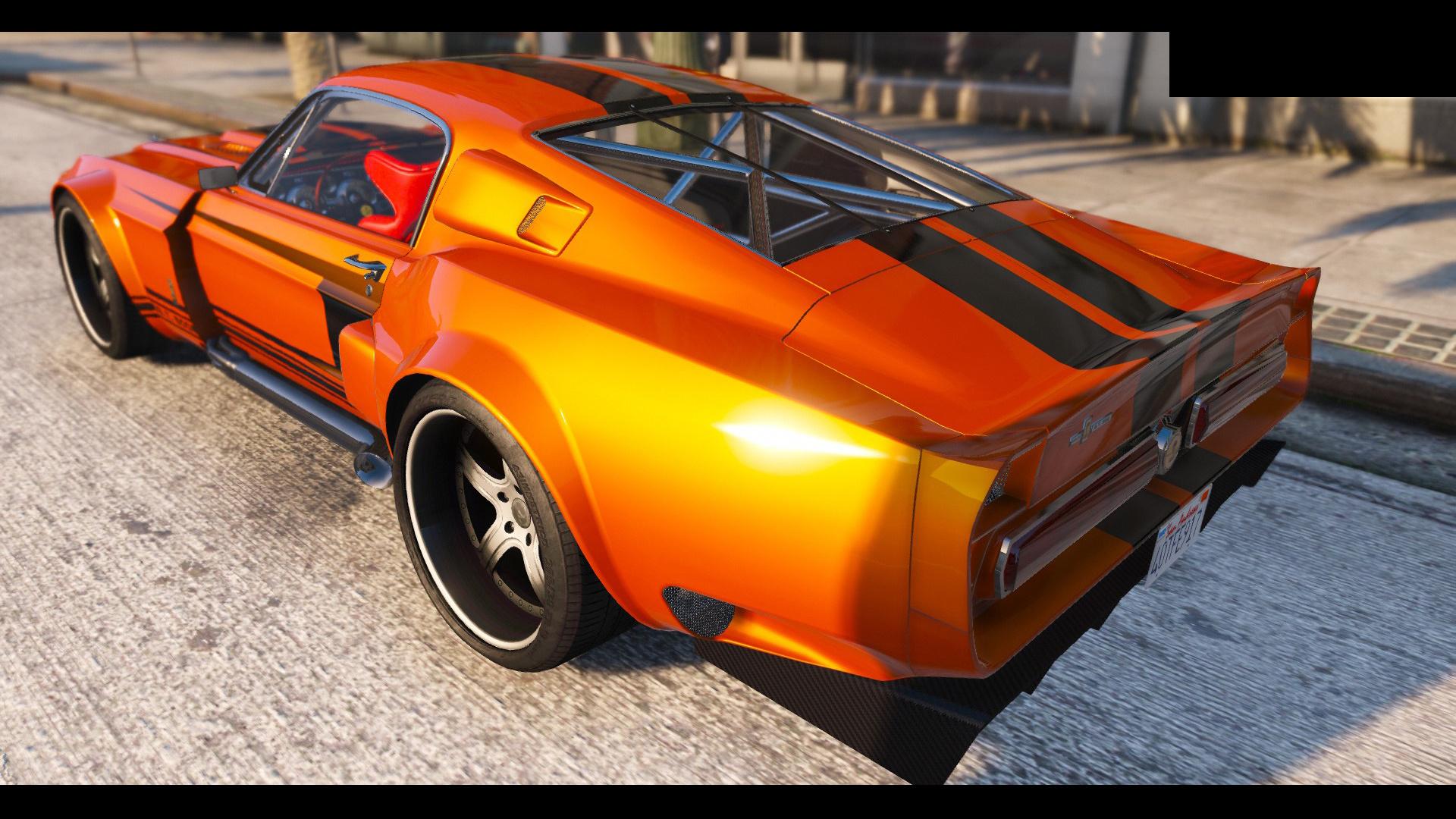 1967 Shelby Mustang Gt500 Hq Tuning Gta5 Mods Com