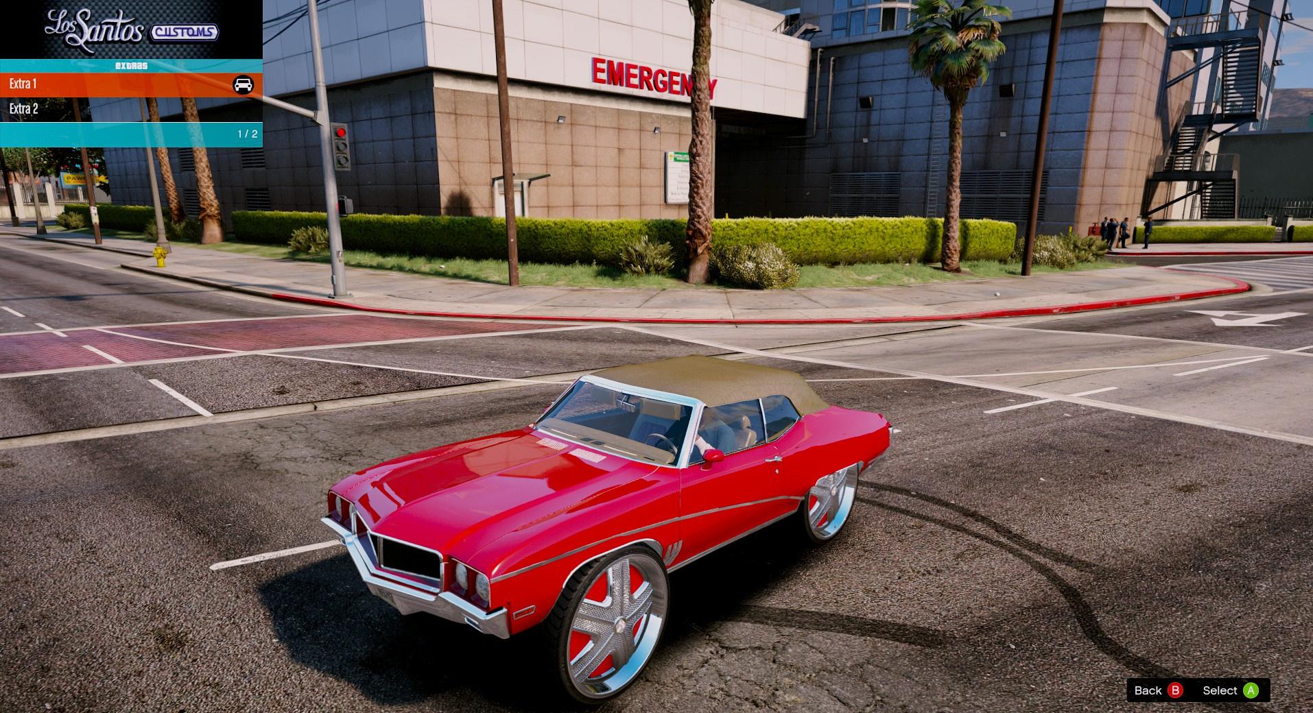 1968 Buick Skylark Donk On Dub Floaters Replace Gta5