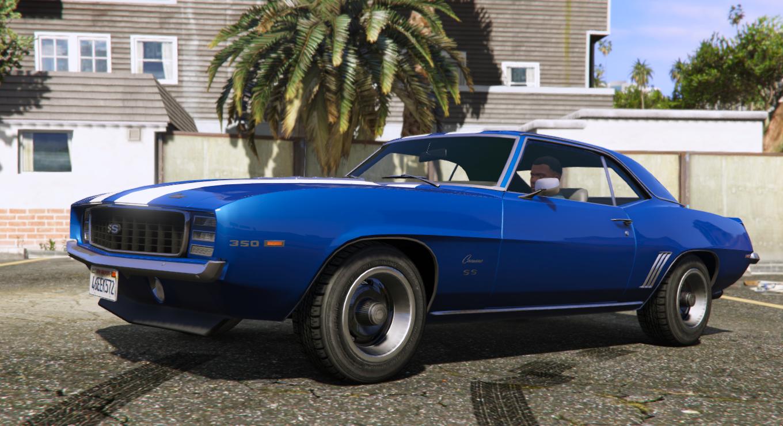 1969 Chevrolet Camaro Ss 350 Gta5 Mods Com