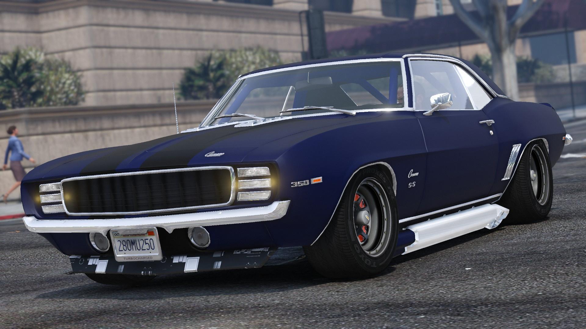1969 Chevrolet Camaro SS [Add-On] - GTA5-Mods.com