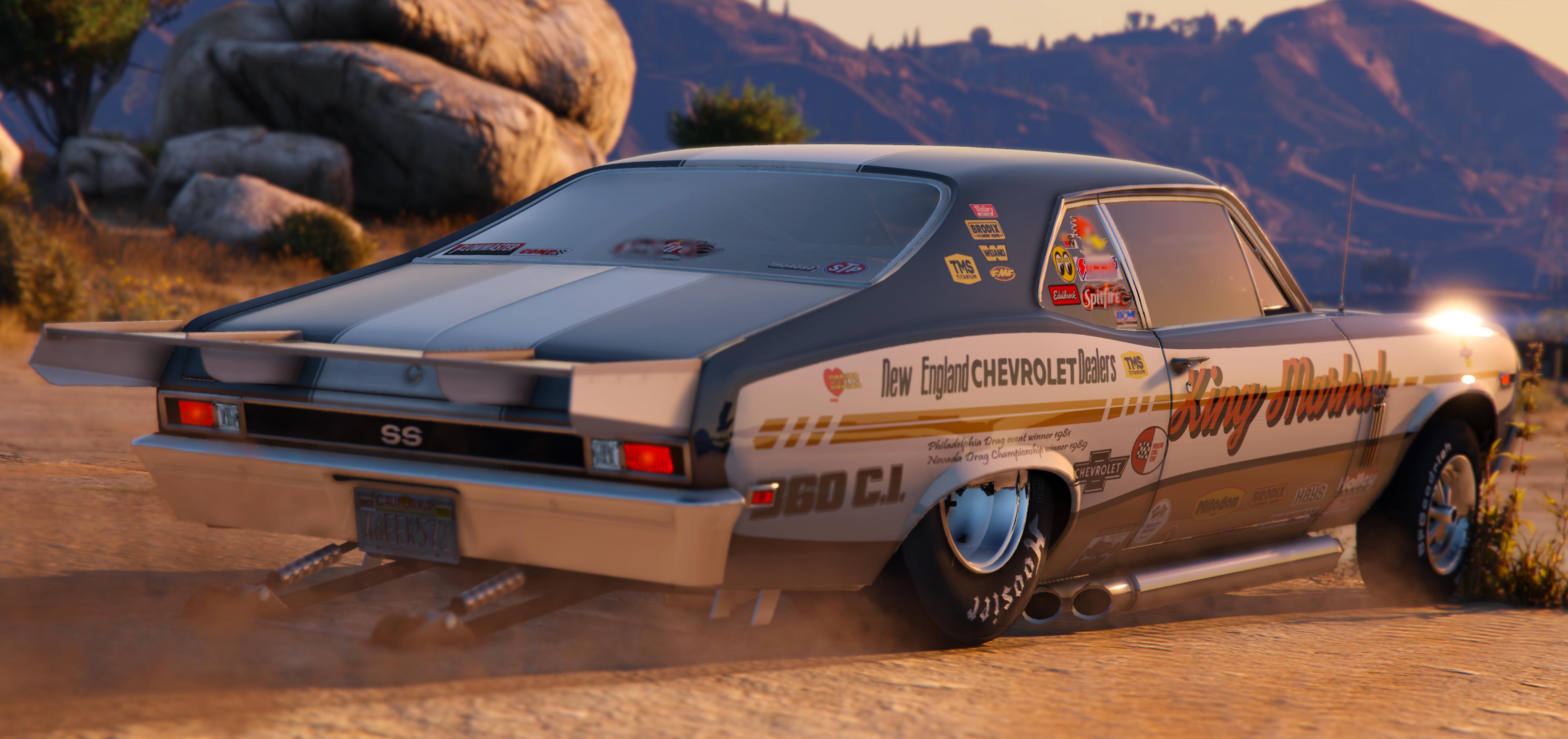 1969 Chevrolet Nova Pack [Add-On | Tunable | HQ] - GTA5-Mods com
