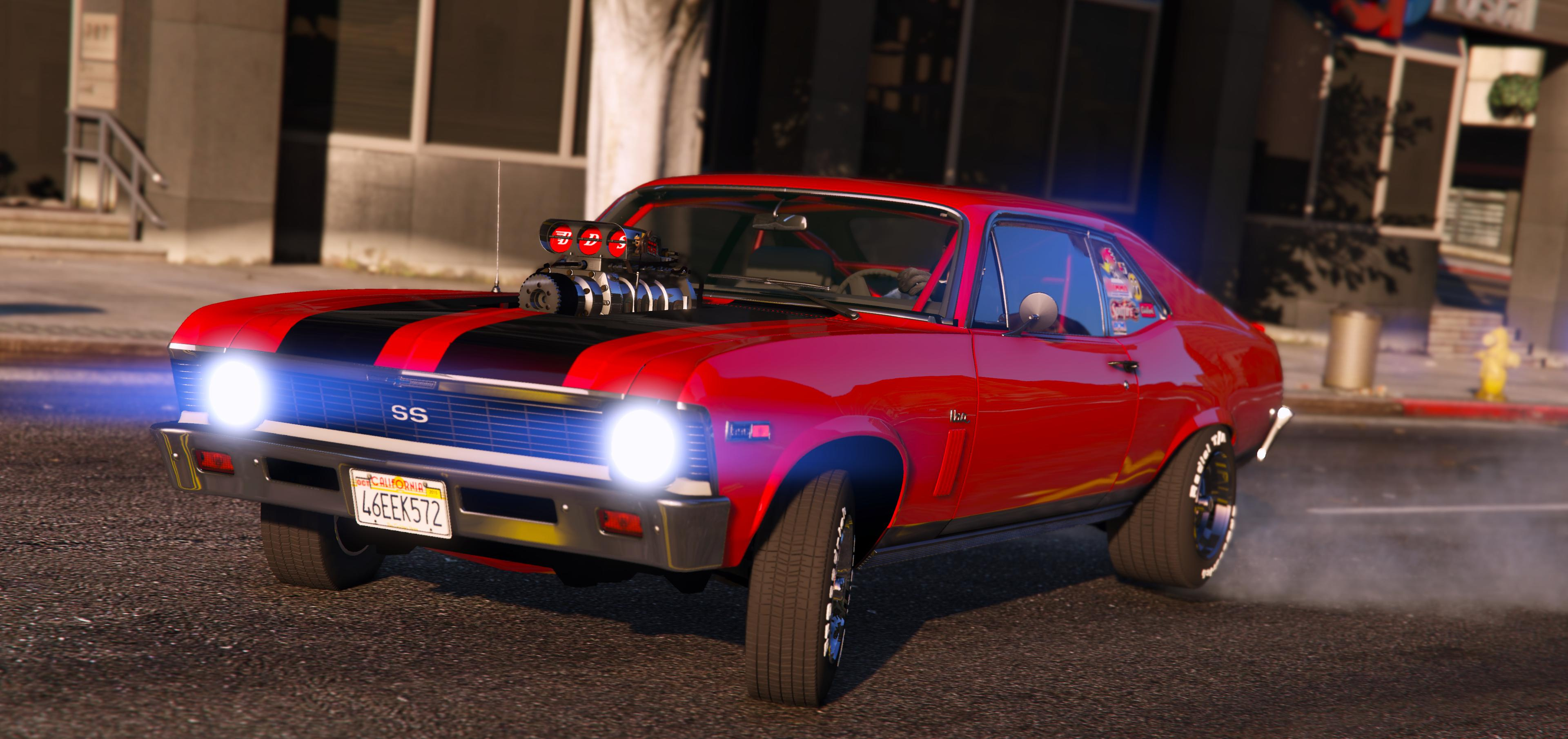 1969 Chevrolet Nova Pack Add On Tunable Hq Gta5