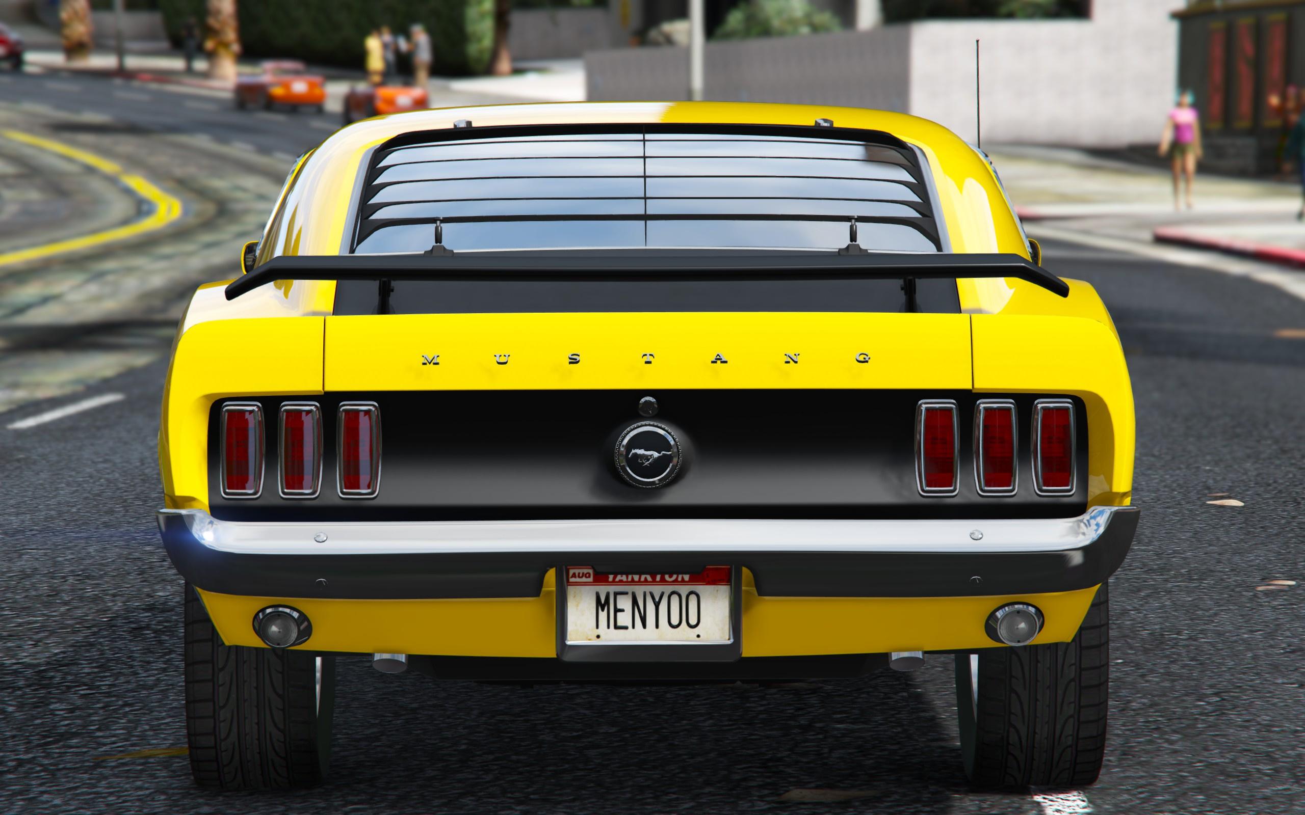 1969 Ford Mustang Boss 302 [Replace Addon] GTA5 Mods