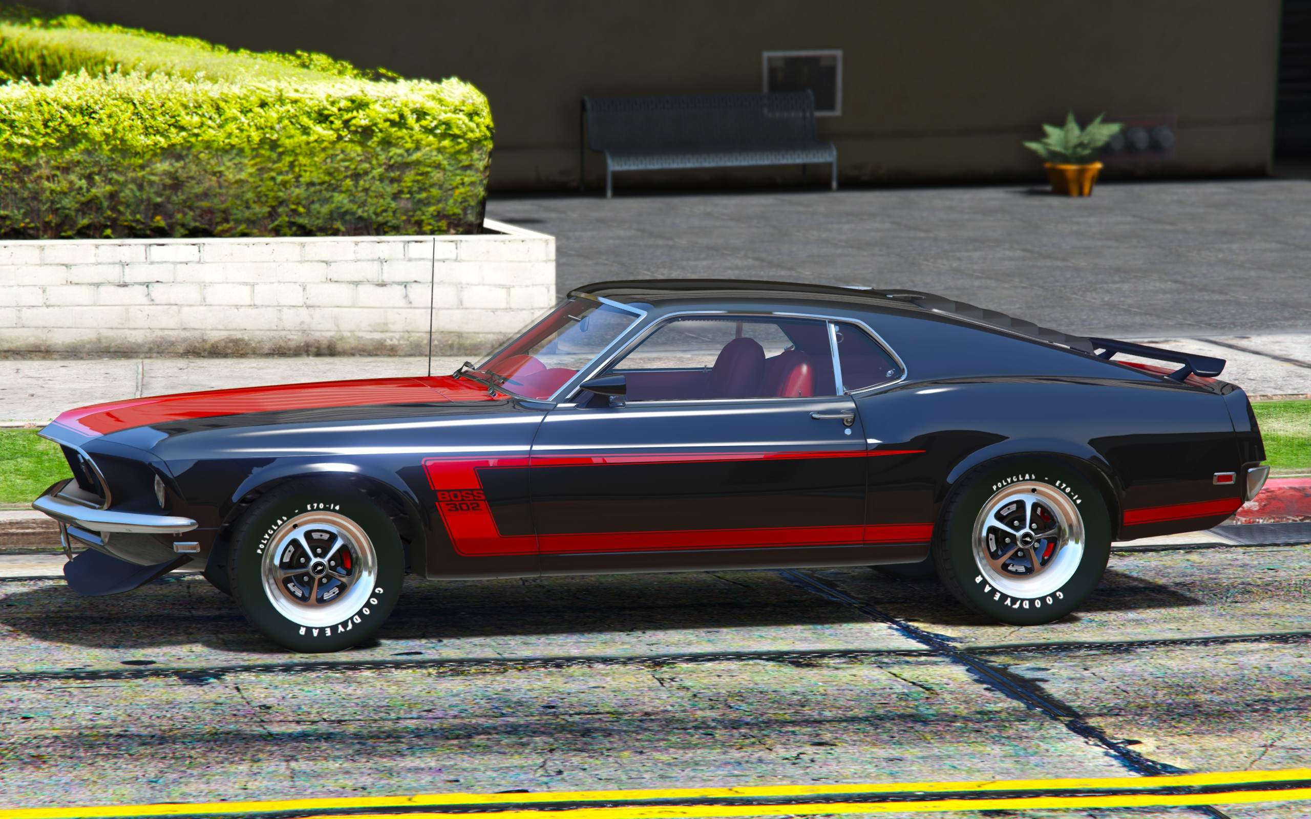 1969 Ford Mustang Boss 302 [Replace Addon] GTA5 Mods
