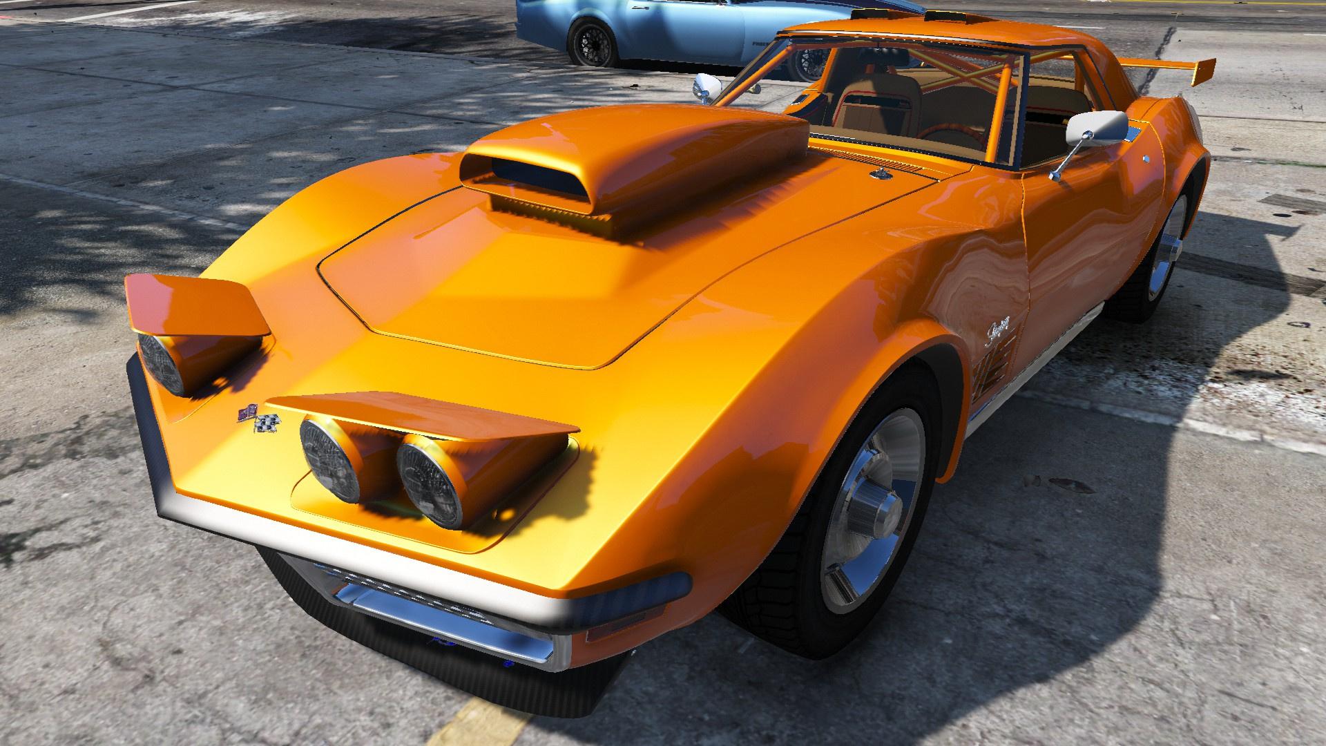 1970 Chevrolet Corvette Zr 1 C3 Gta5 Mods Com