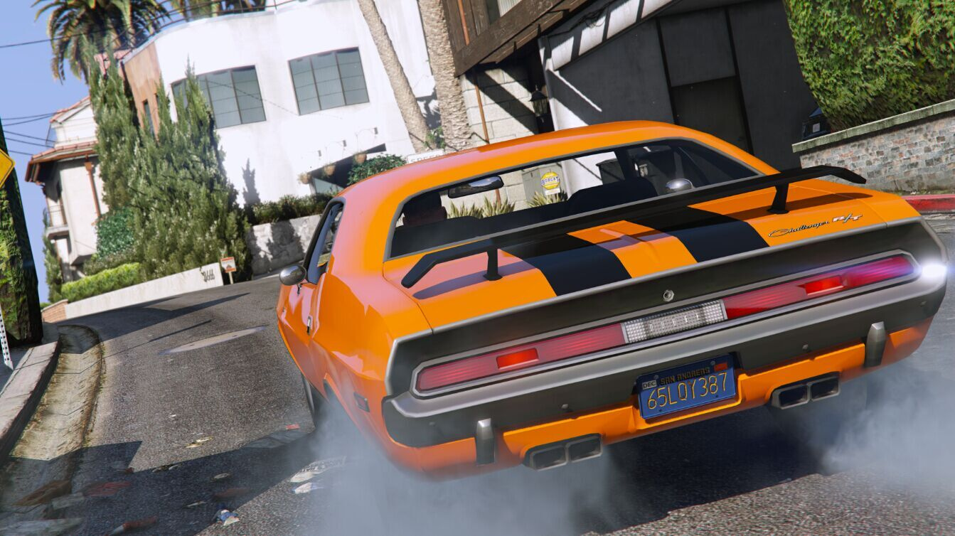 1970 Dodge Challenger RT 440 Six Pack - GTA5-Mods com