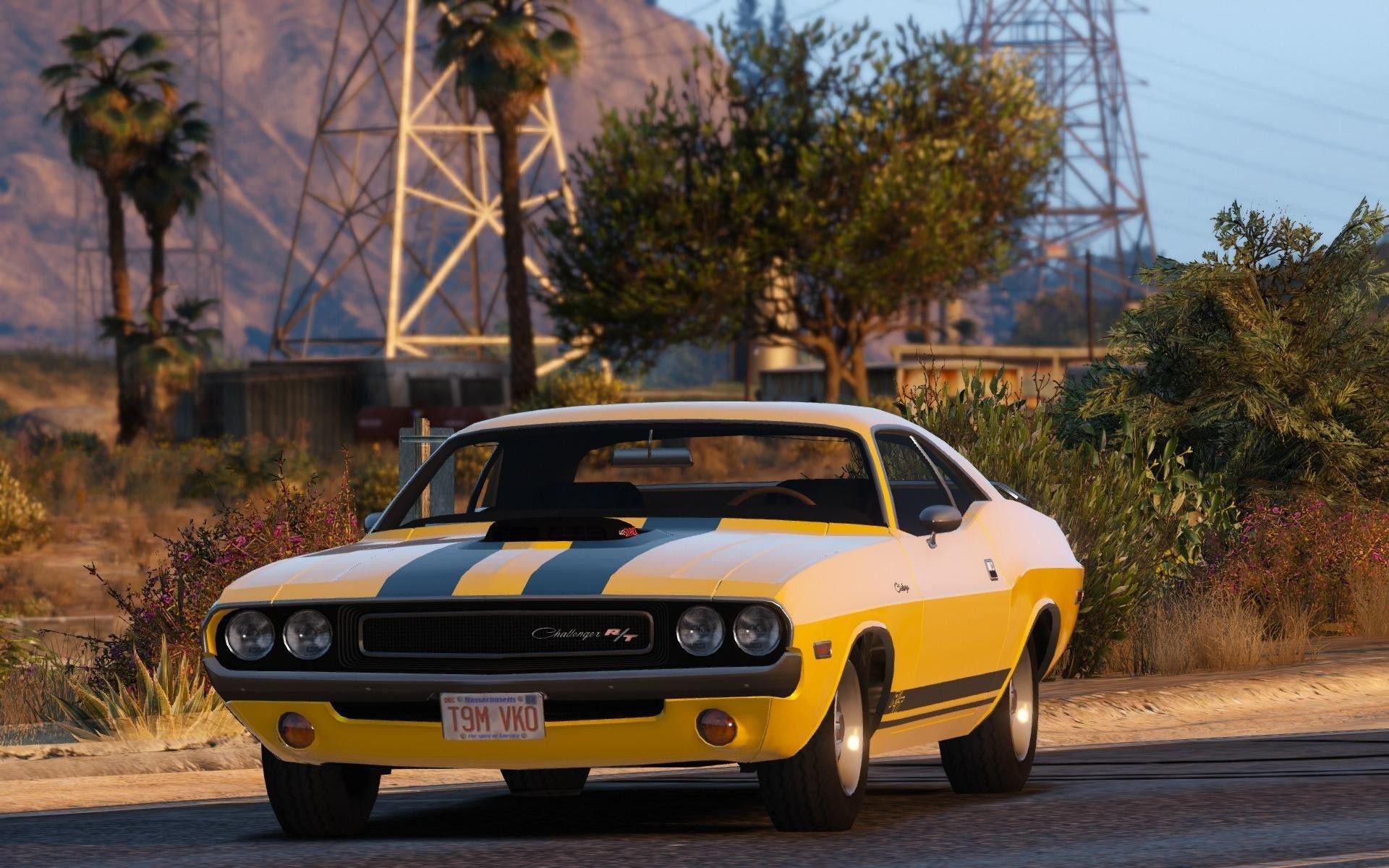 1970 Dodge Challenger RT 440 Six Pack - GTA5-Mods com