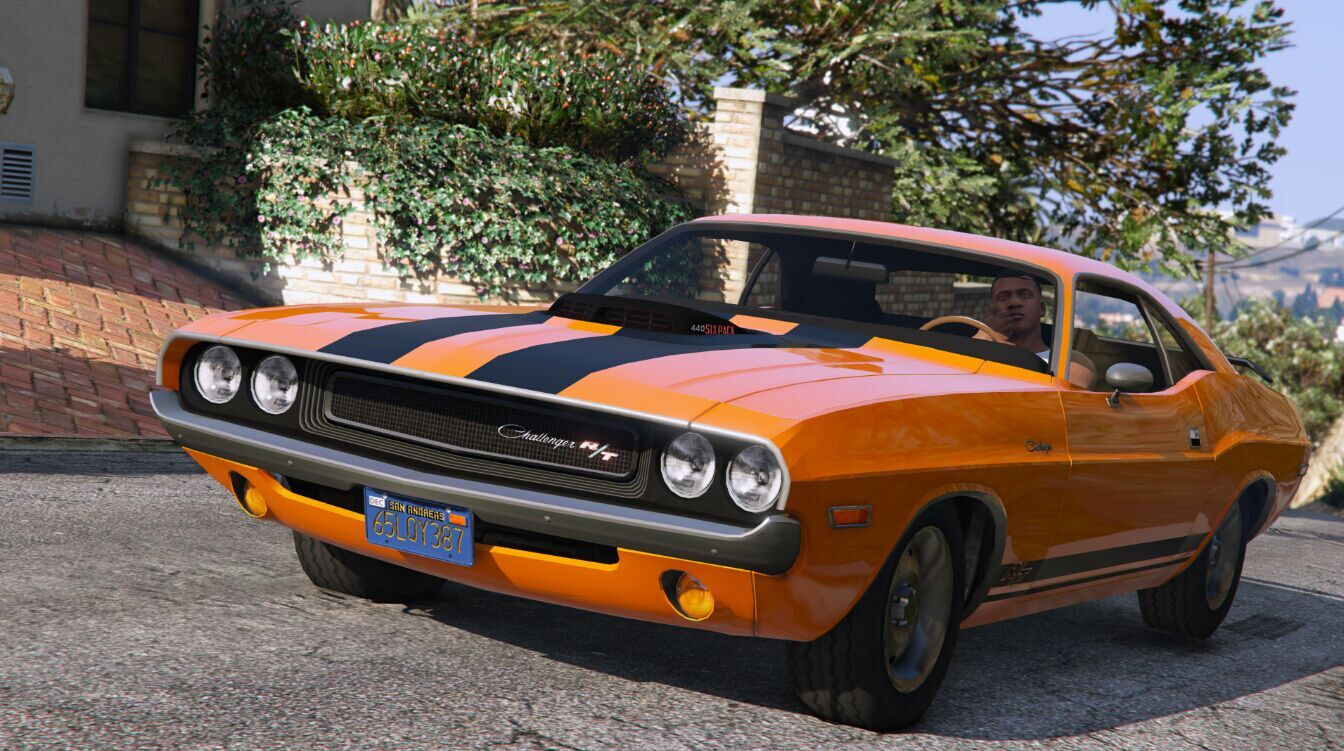 1970 Dodge Challenger Rt 440 Six Pack Gta5 Mods Com