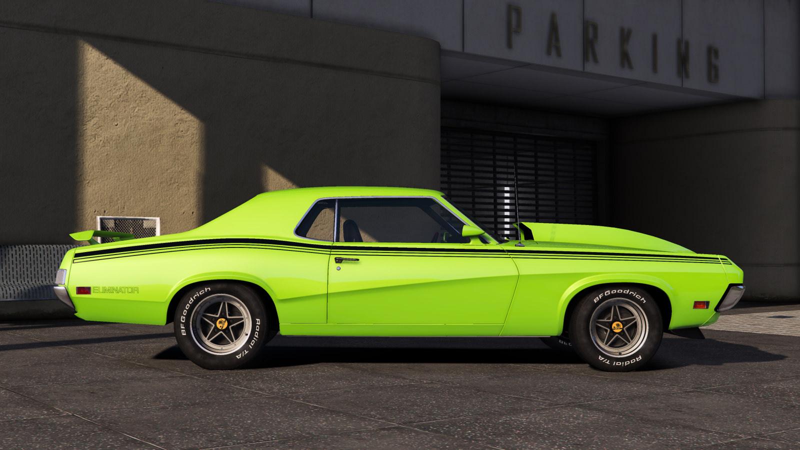 1970 Mercury Cougar Eliminator Add On Gta5 Mods Com