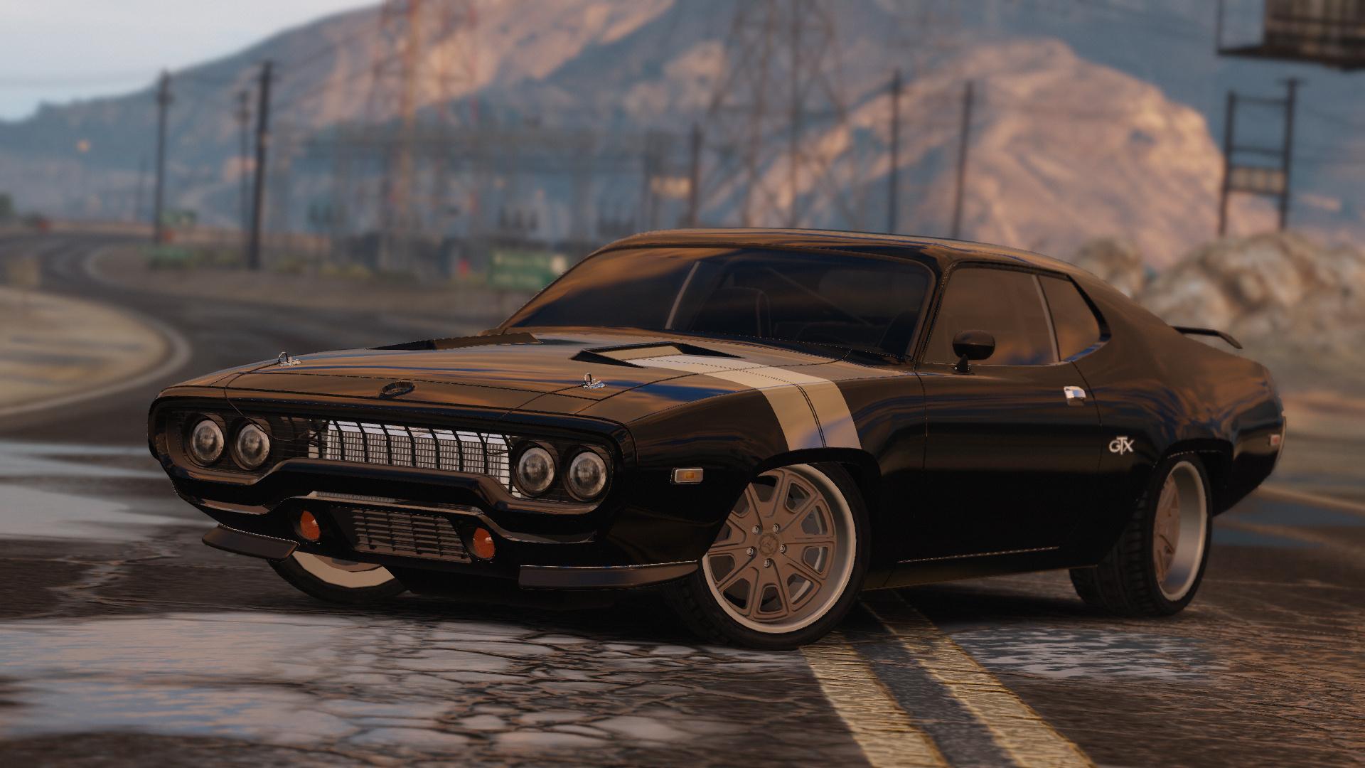 Plymouth roadrunner gtx