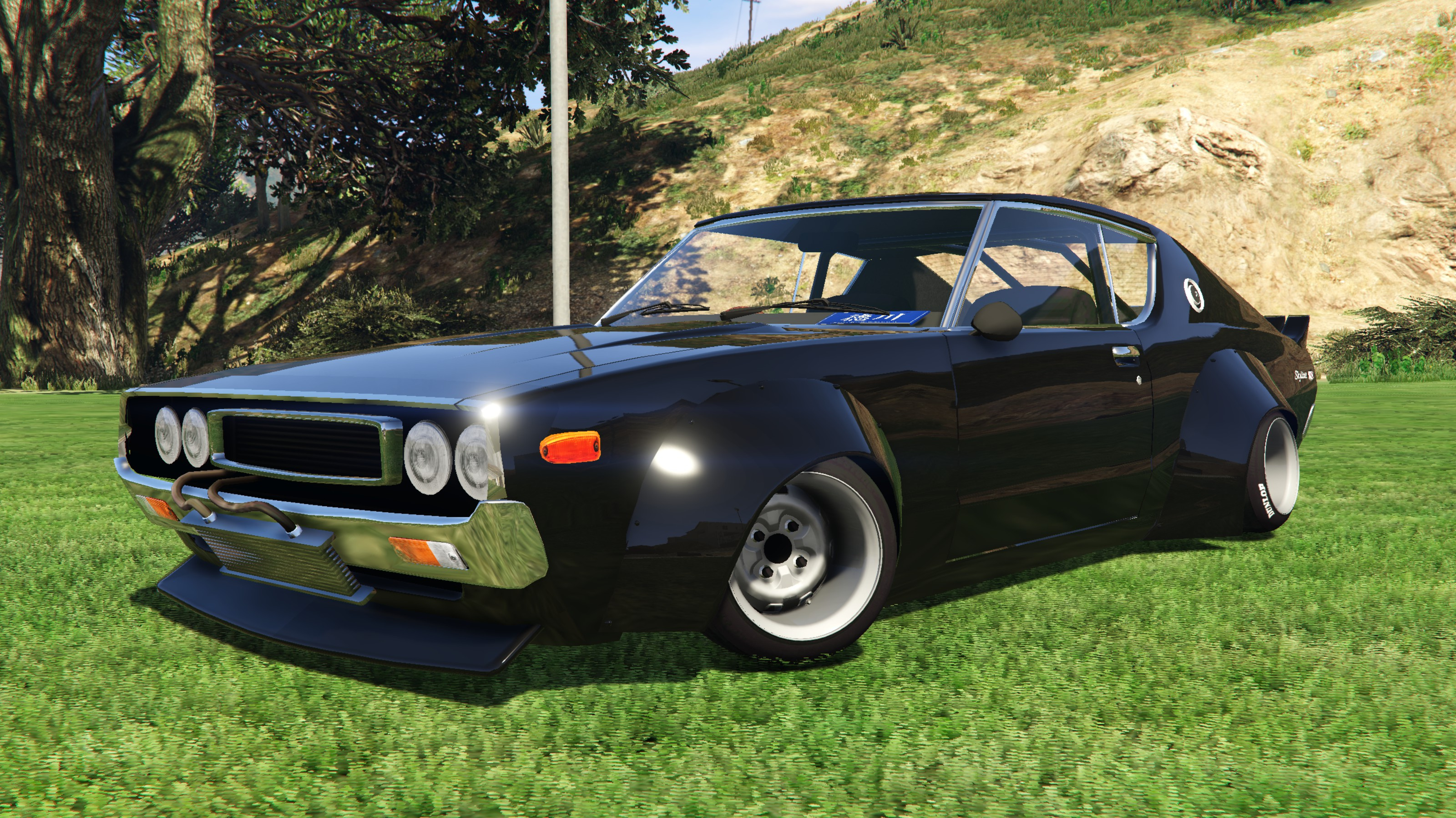 1972 nissan skyline gt r ht kenmeri c110 replace gta5. Black Bedroom Furniture Sets. Home Design Ideas