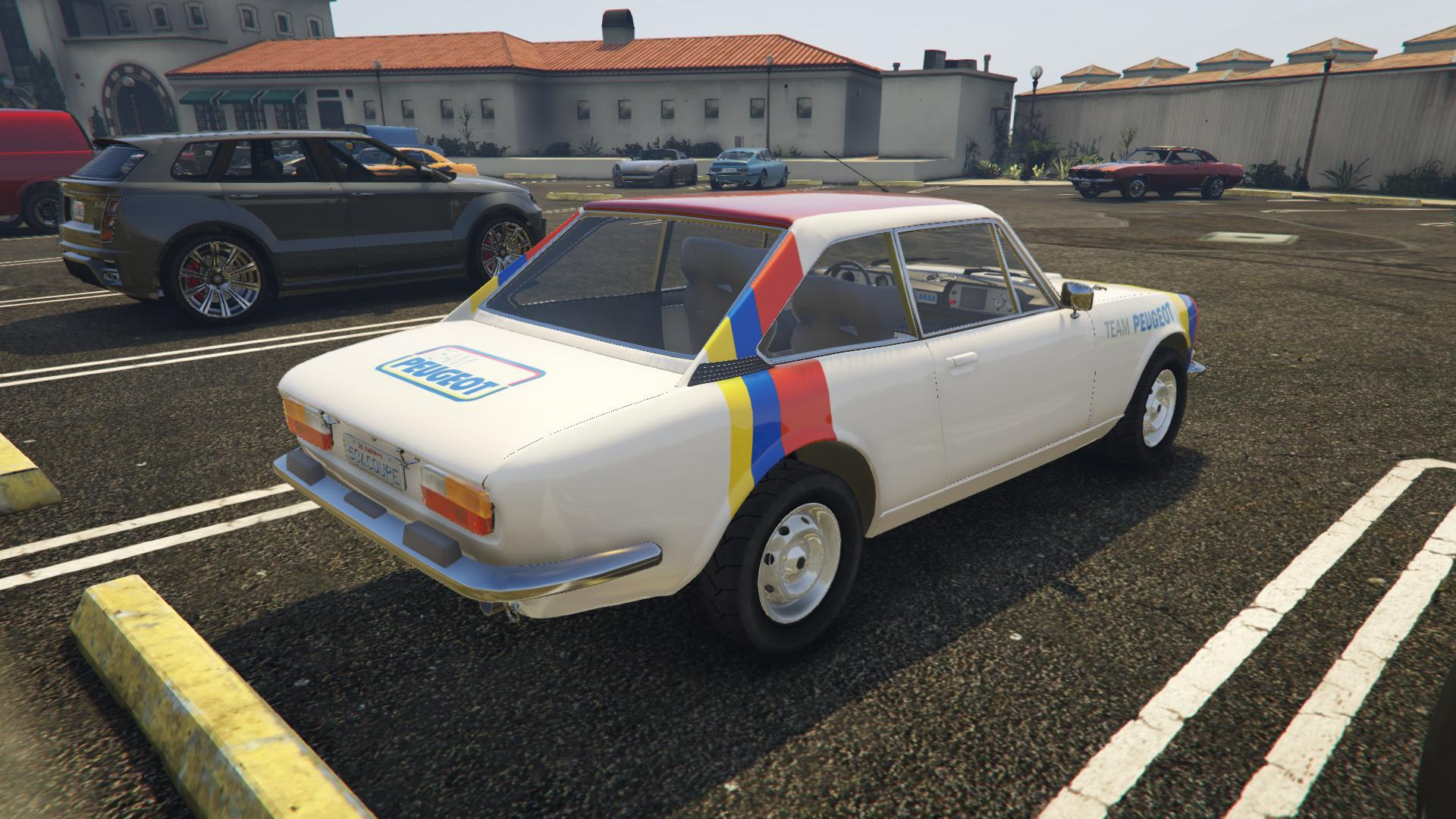 1976 Peugeot 504 Coupe Add On Replace Gta5 Mods Com