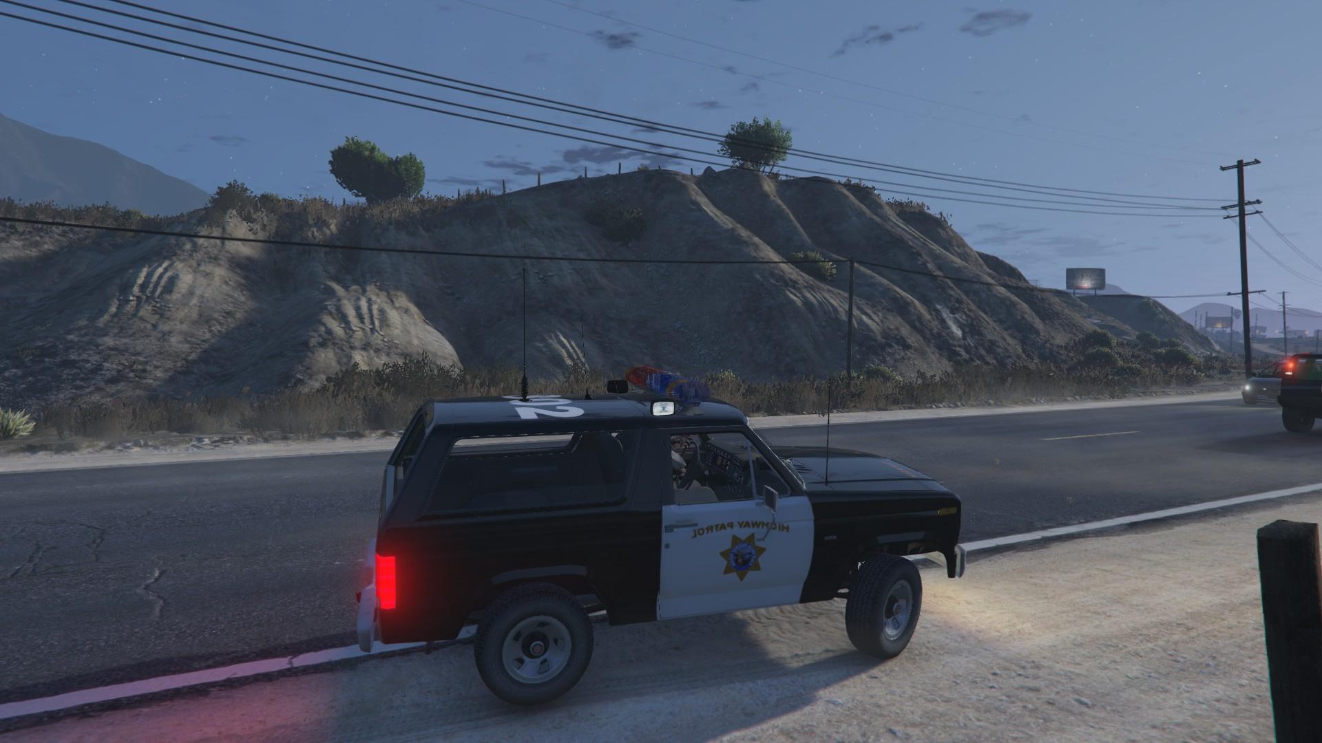 1980 Ford Bronco California Highway Patrol Gauges 9e9750 20161030155132 1