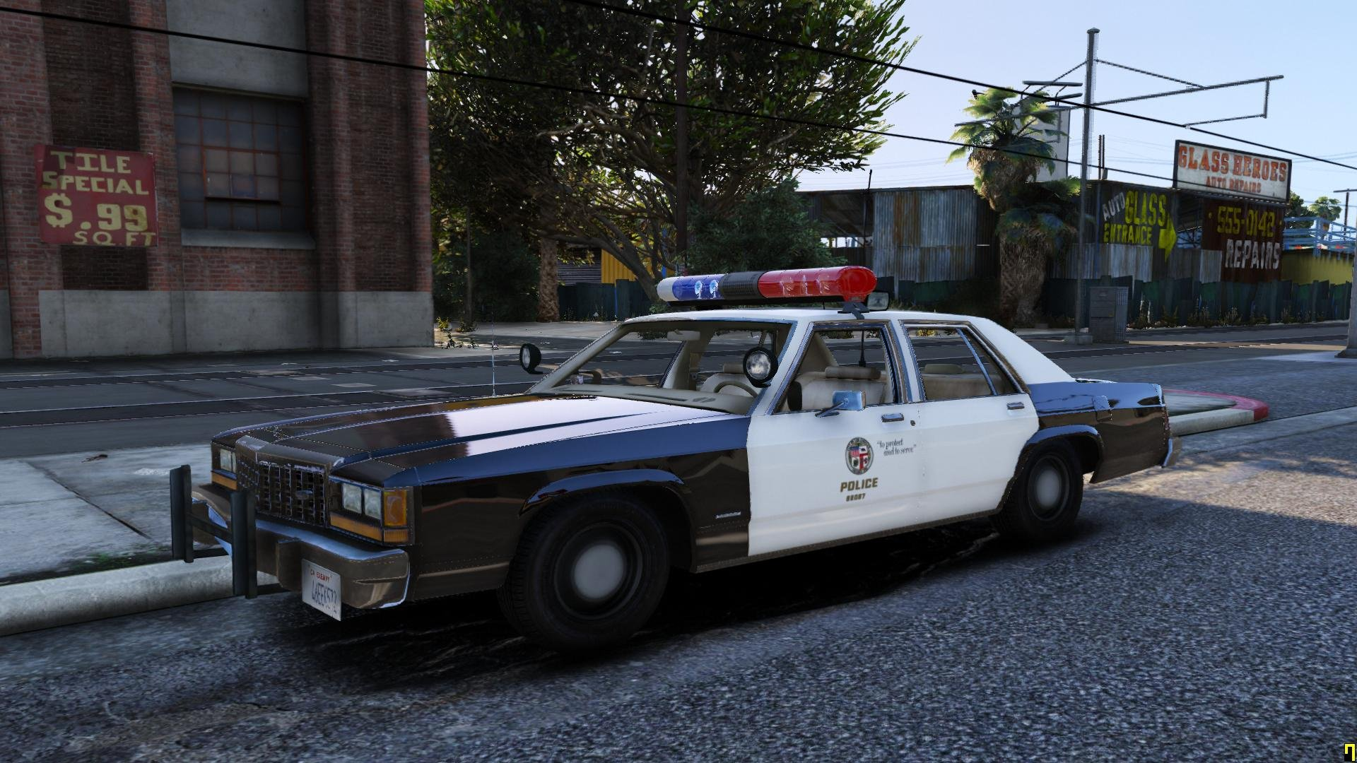 1980s LAPD Car Duo - GTA5-Mods com
