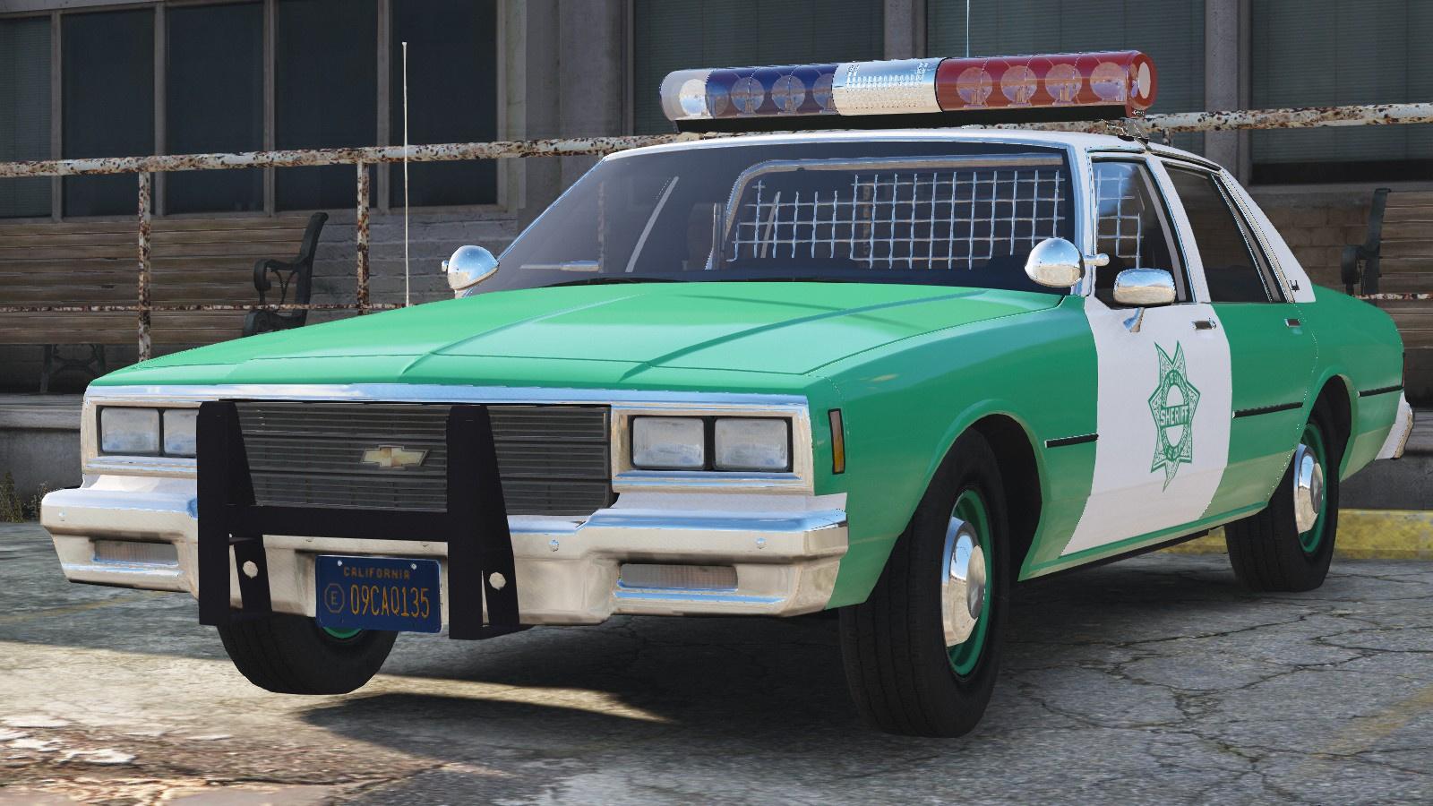 Chevy San Diego >> 1982 Chevy Impala 9c1 San Diego County Sheriff Gta5 Mods Com