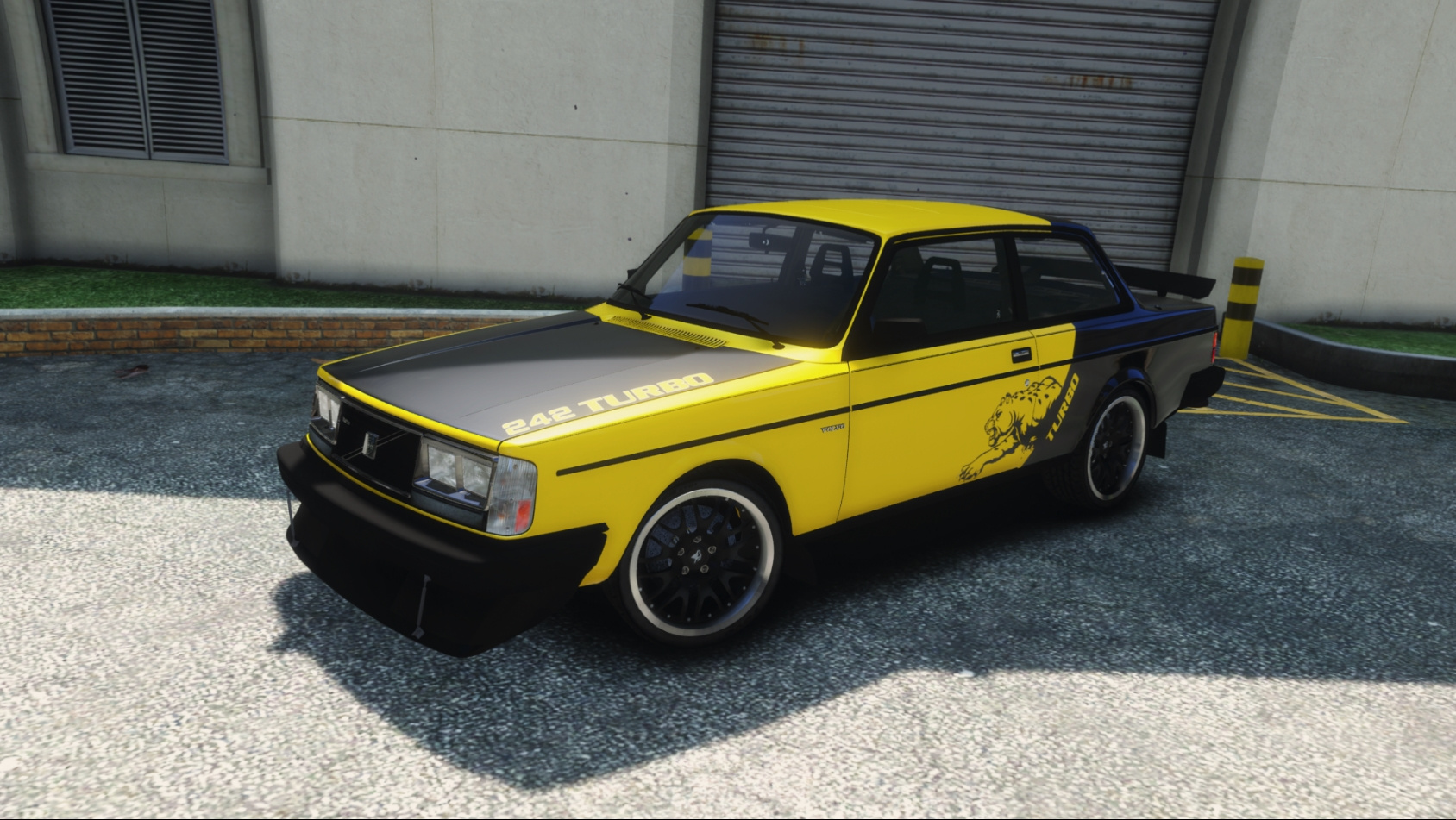 1983 Volvo 242 Turbo [Tuning | Add-On / Replace | Template ...