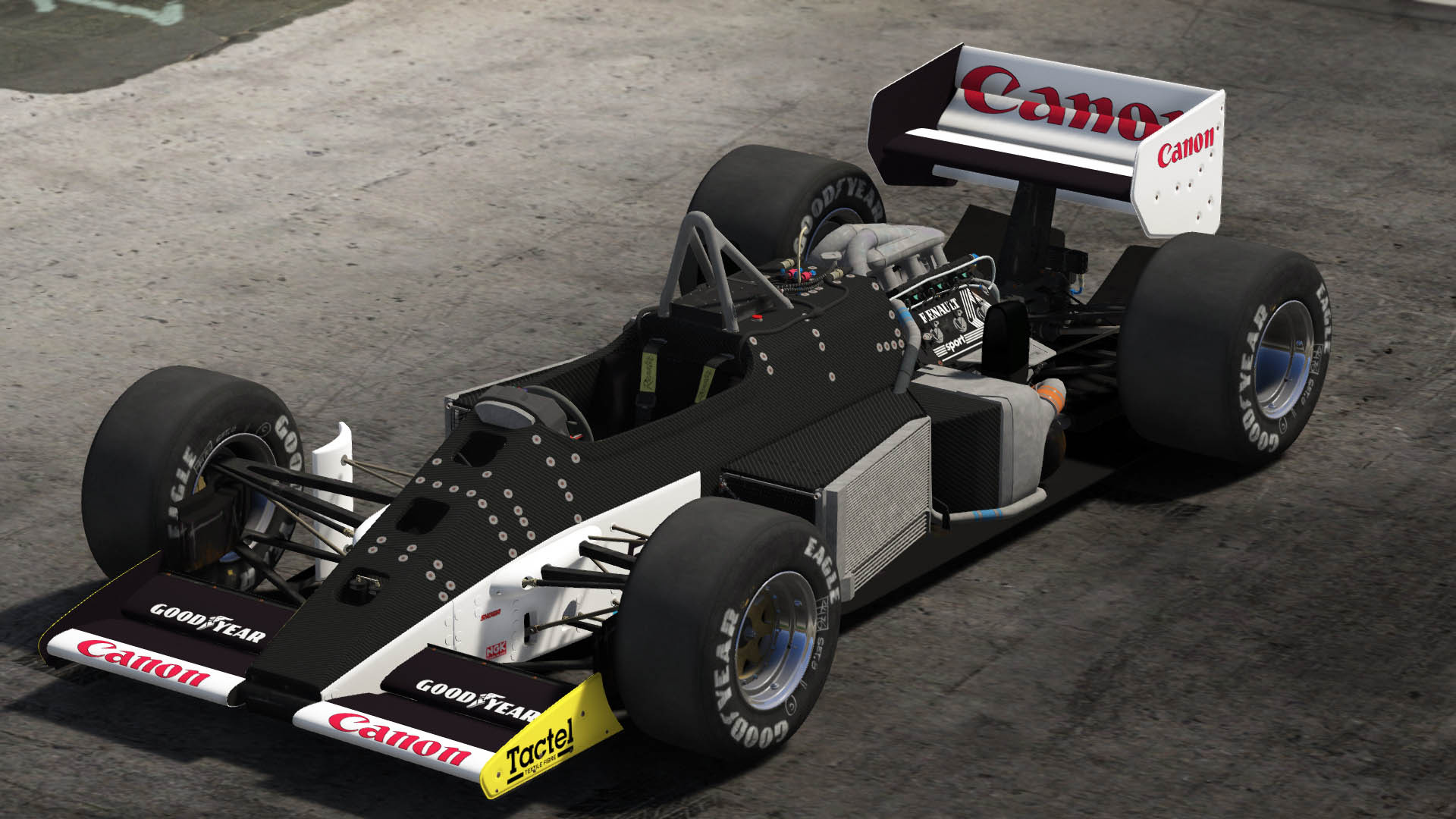 1986 Lotus 98T [Add-On / Replace | Liveries | Template] - GTA5 ...