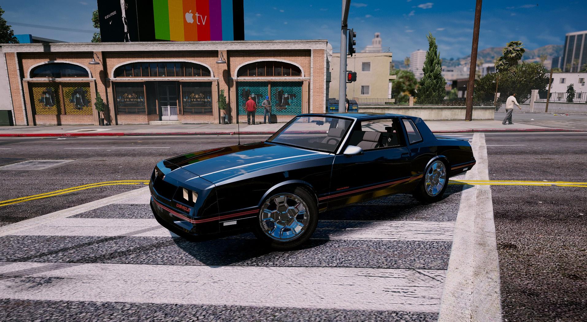 1986 Chevrolet SS Monte Carlo GTA5 Mods