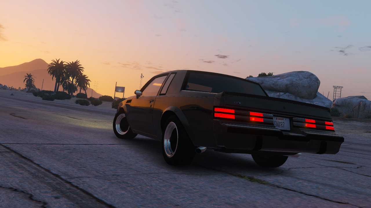1987 Buick Gnx Add On Replace Gta5 Mods Com