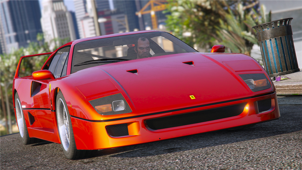 1987 ferrari f40 gta5. Black Bedroom Furniture Sets. Home Design Ideas