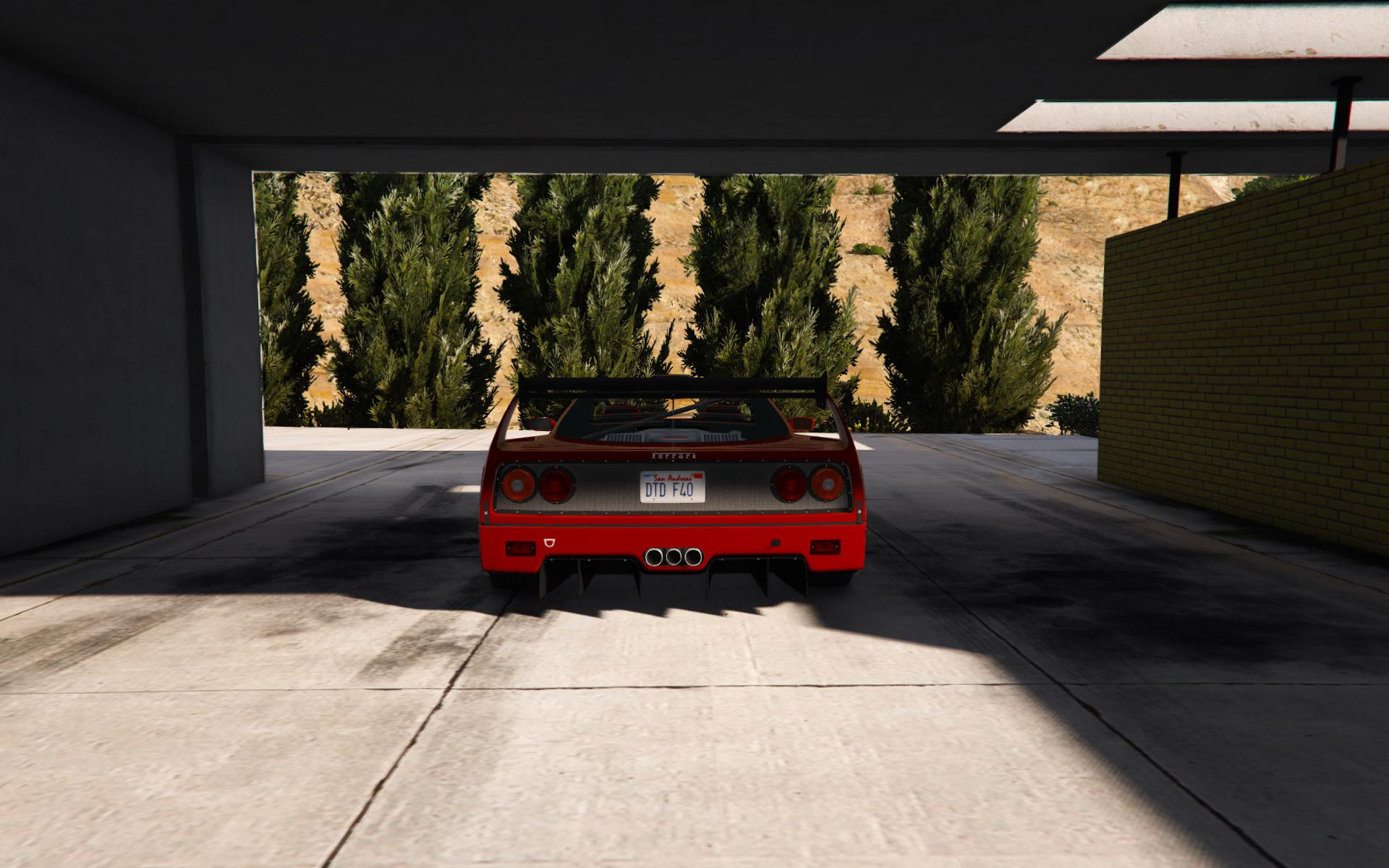 1987 Ferrari F40 [Add,On / Replace