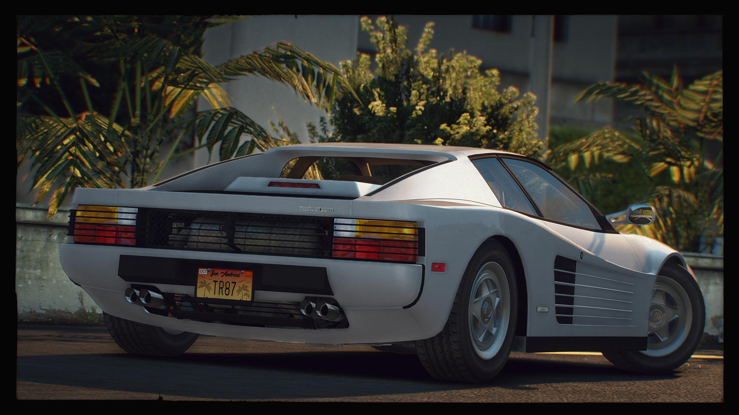 1987 Ferrari Testarossa Add On Extras Lods Gta5 Mods Com