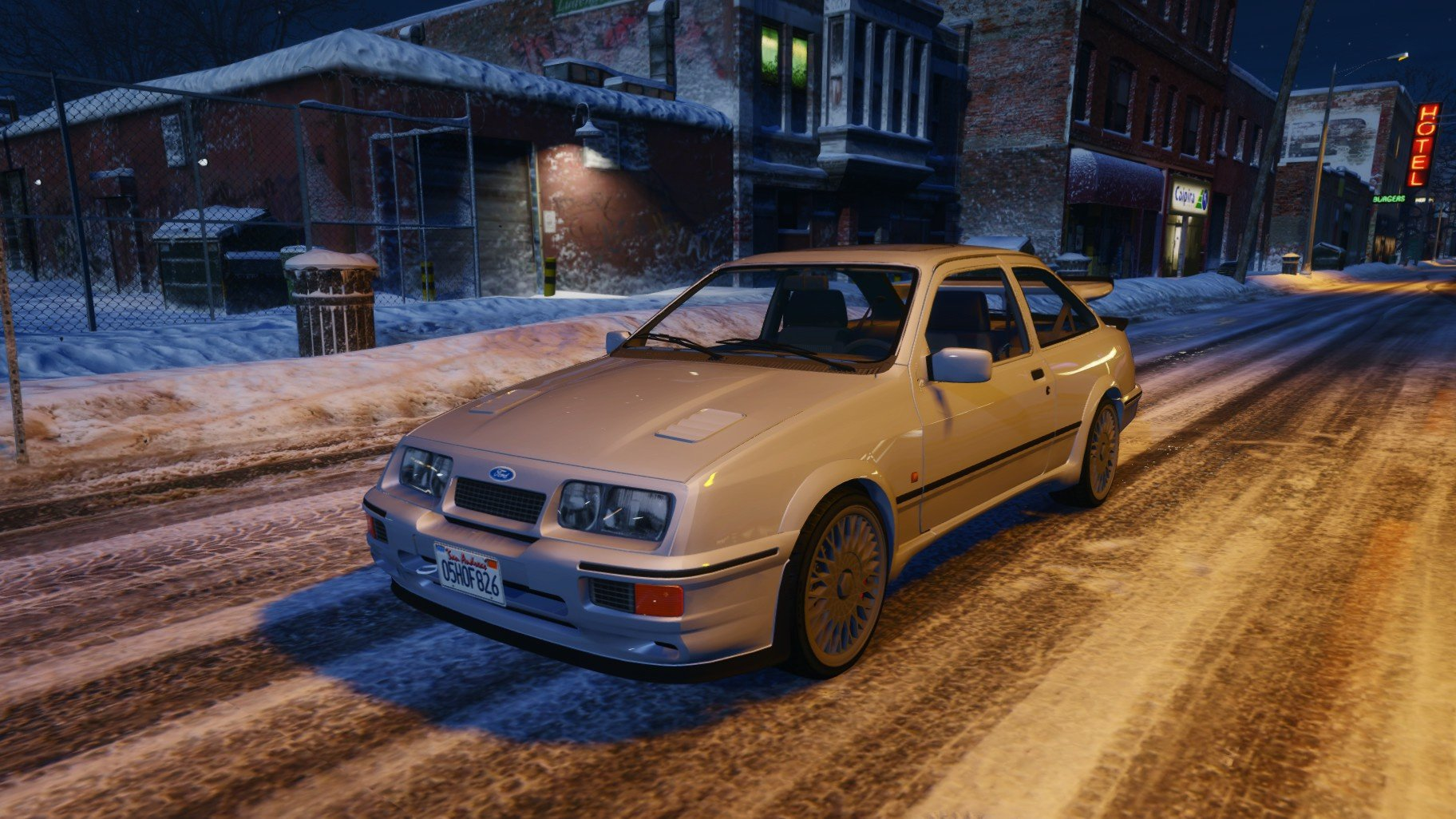 1987 ford sierra rs cosworth hq tuning gta5. Black Bedroom Furniture Sets. Home Design Ideas