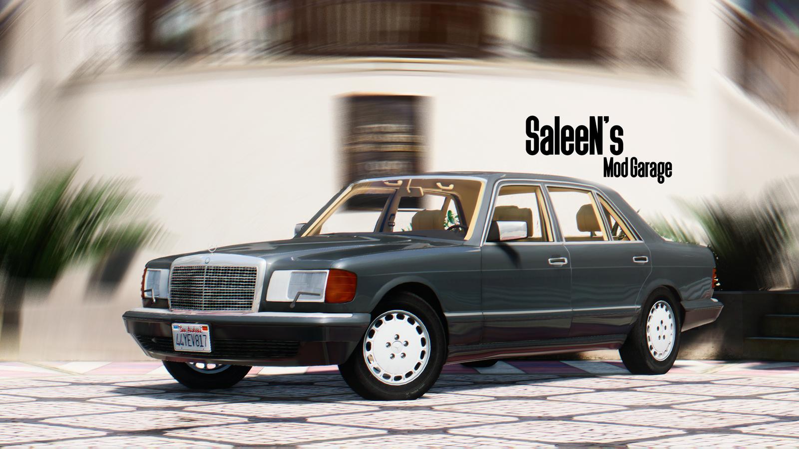 1987 mercedes benz 560sel gta5 for Mercedes benz 560sel