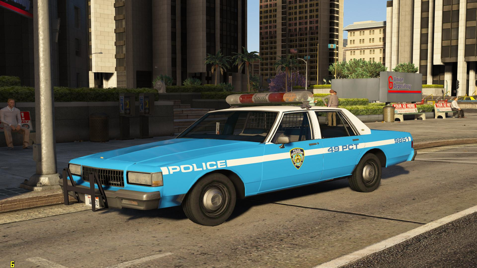 1987 nypd chevrolet caprice gta5. Black Bedroom Furniture Sets. Home Design Ideas