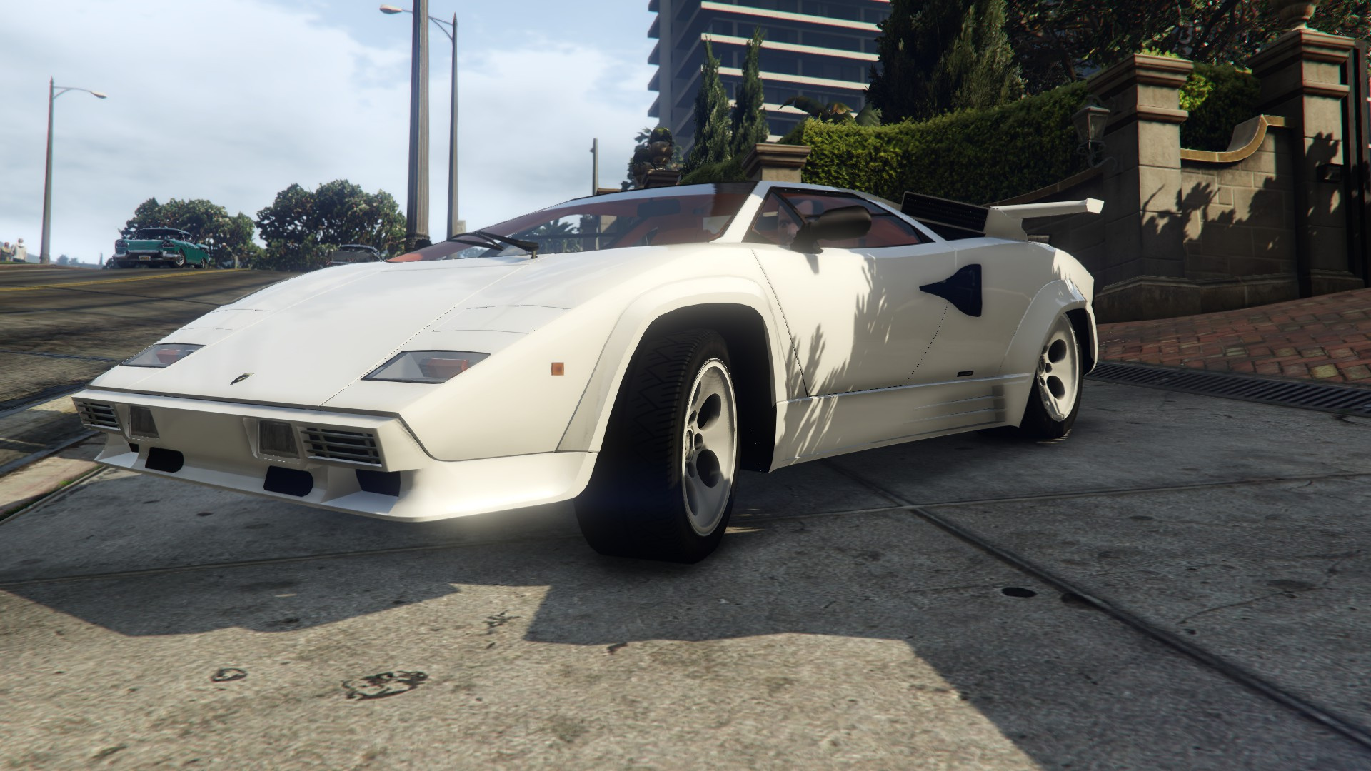 1988 lamborghini countach lp500 qv gta5. Black Bedroom Furniture Sets. Home Design Ideas