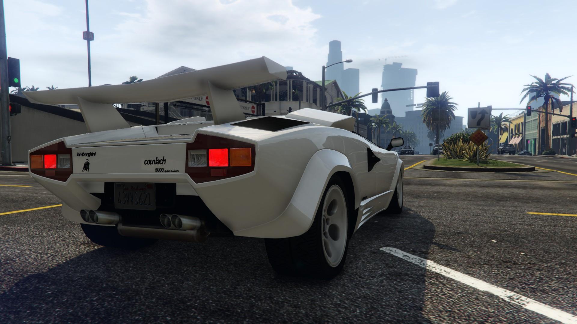 1988 Lamborghini Countach Lp500 Qv Gta5 Mods Com