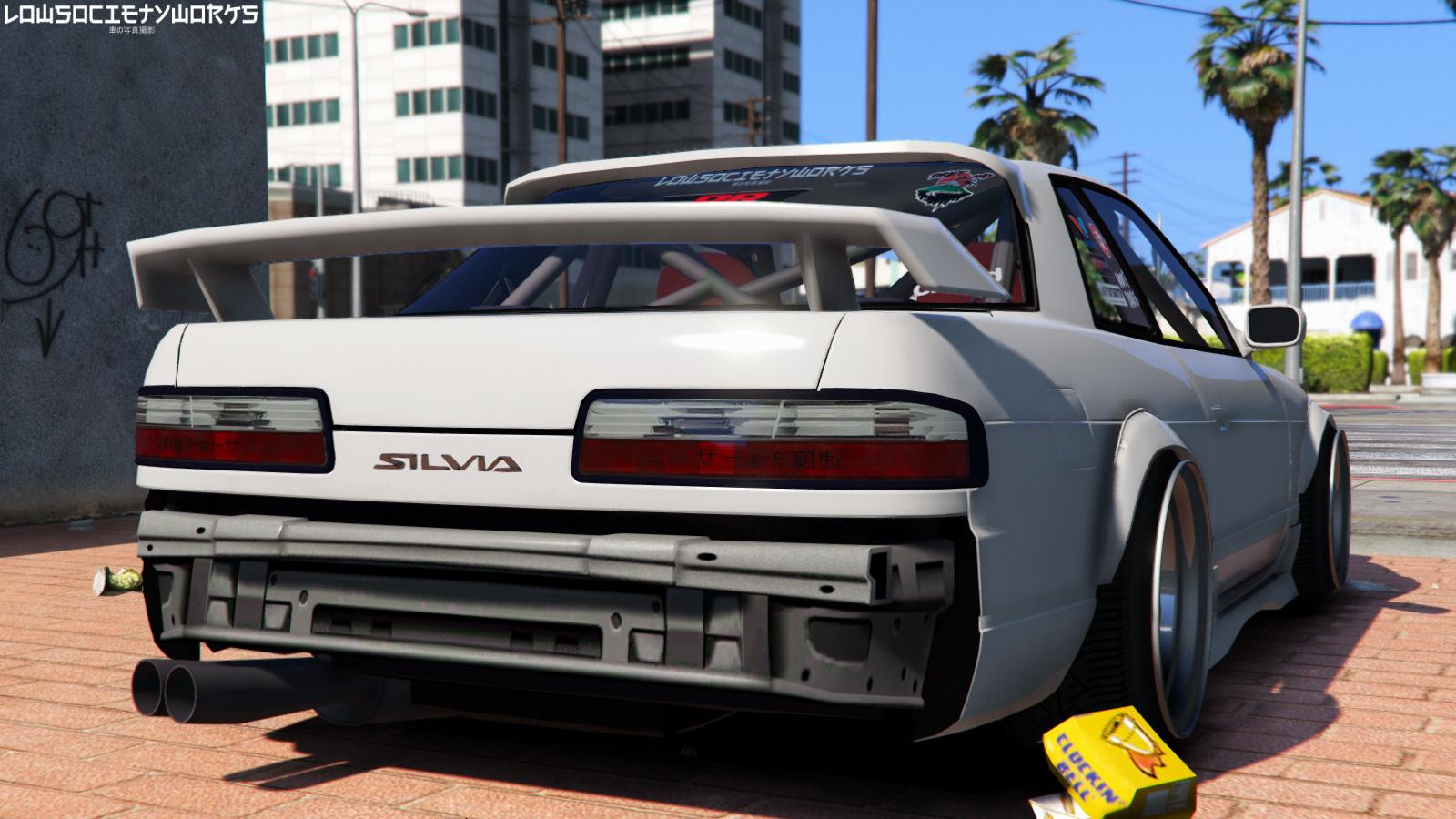 1989 Nissan 240sx S13 Onevia Gta5 Mods Com