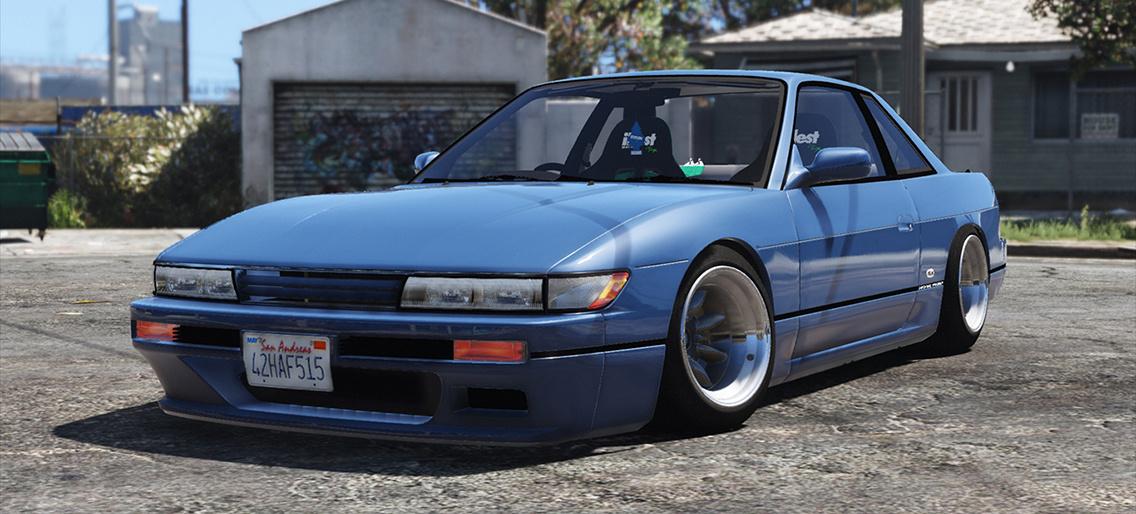 1989 Nissan Silvia S13 Gta5 Mods Com