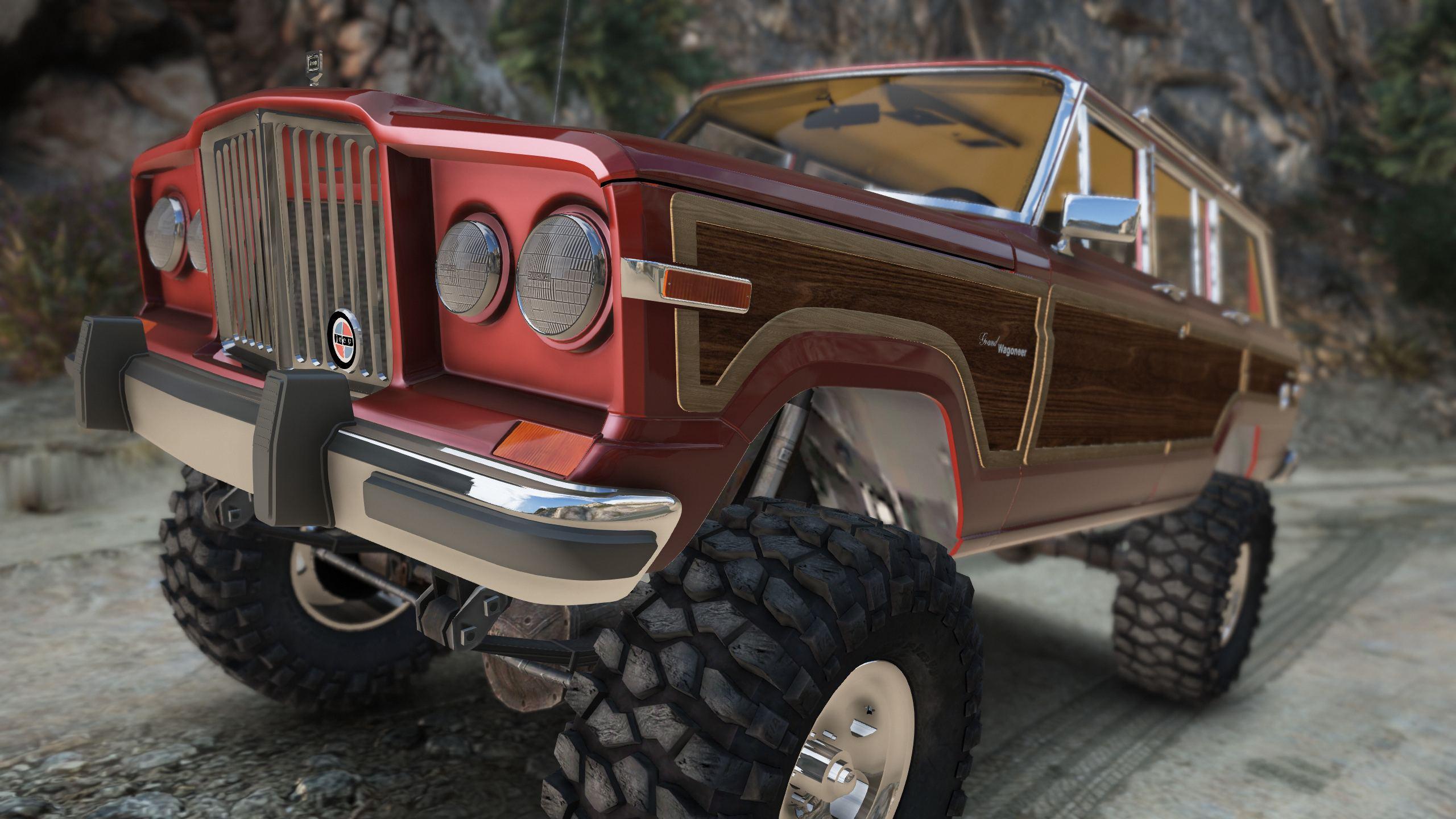 Jeep Grand Wagoneer >> 1990 Jeep Grand Wagoneer Add On Gta5 Mods Com