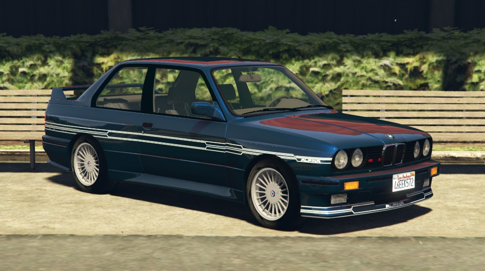 1989 Alpina B6 35s AddOn  Replace  Livery BMW E30  GTA5