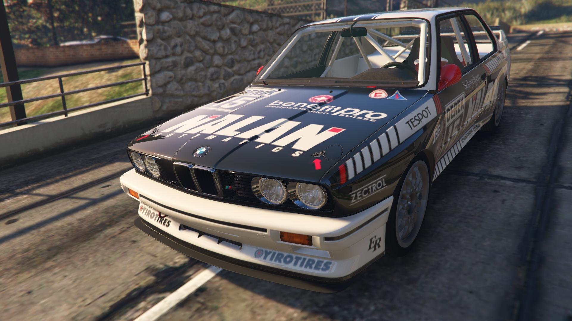 BMW E AddOn GTAModscom - 1991 bmw