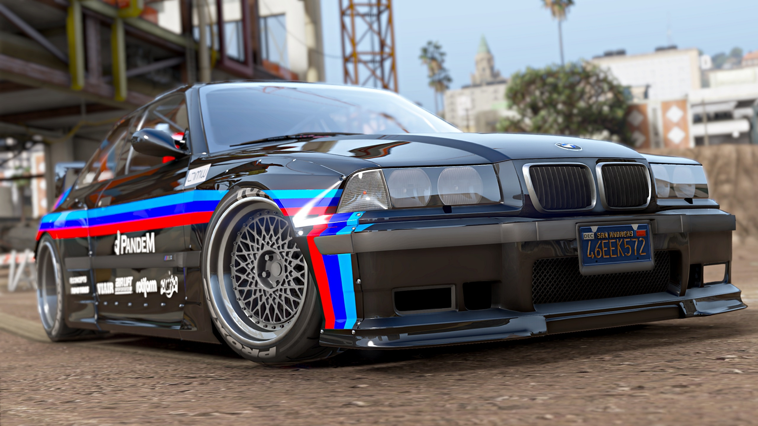 1992 Bmw M3 E36 Pandem Rocket Bunny Add On Replace Tuning Gta5 Mods Com