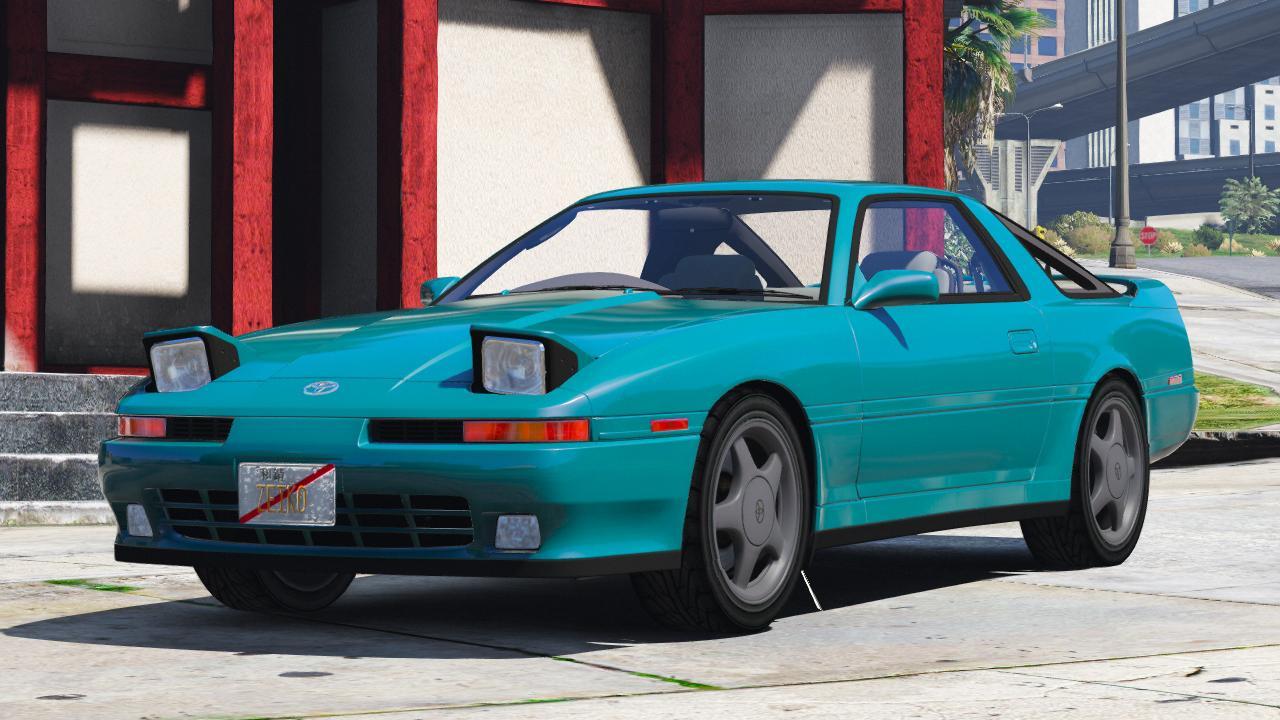 1992 Toyota Supra Turbo Mk3 Add On Template Gta5